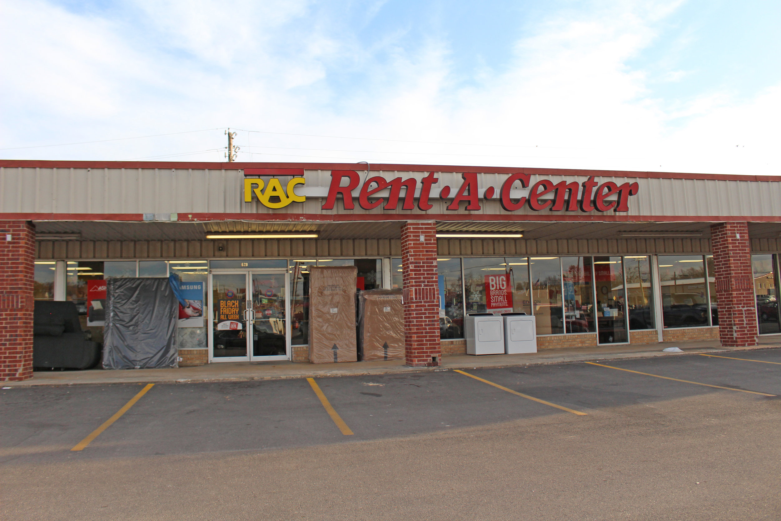 rent-a-center - atwoods plaza 620 east charles page boulevard