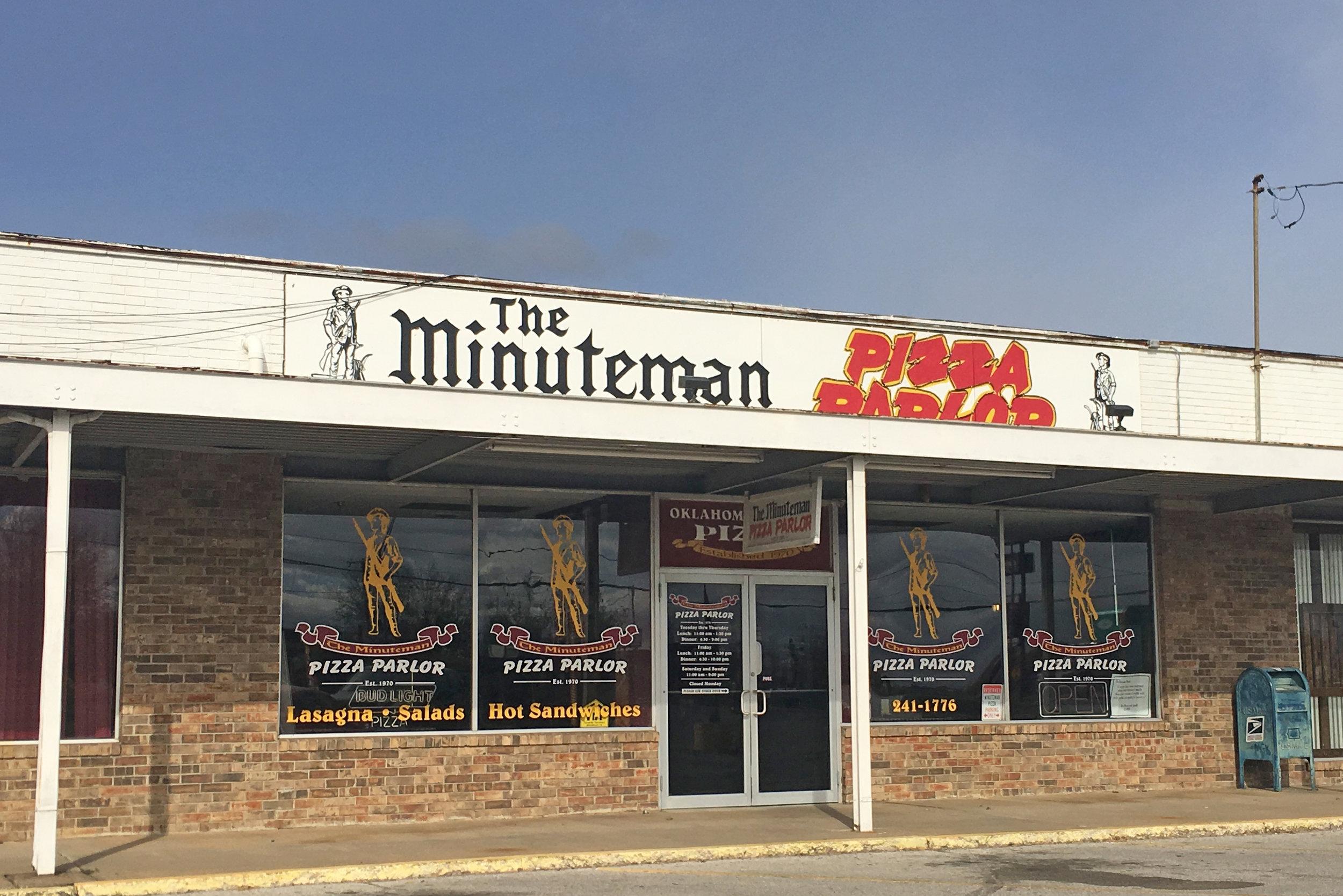 the minuteman pizza parlor - prattville center 7 west 41st street