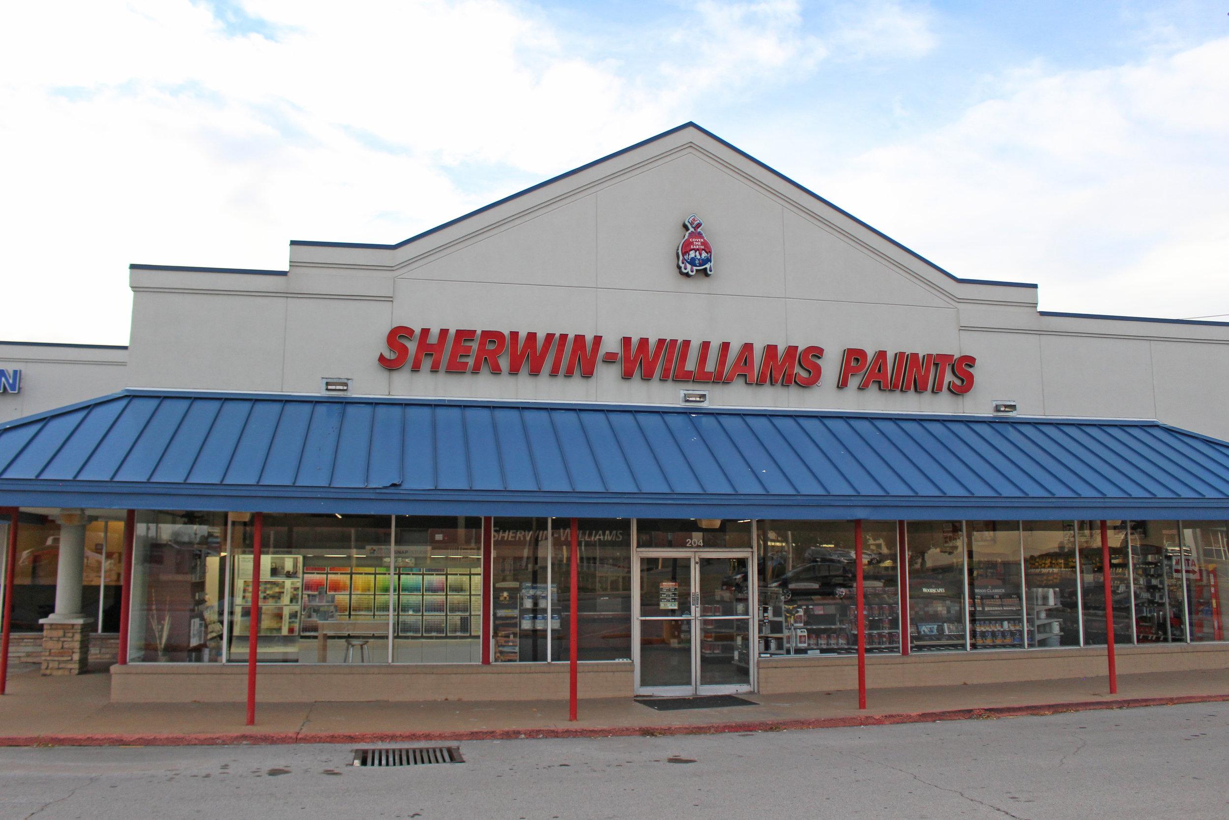 sherwin-williams paints - downtown 204 jefferson street
