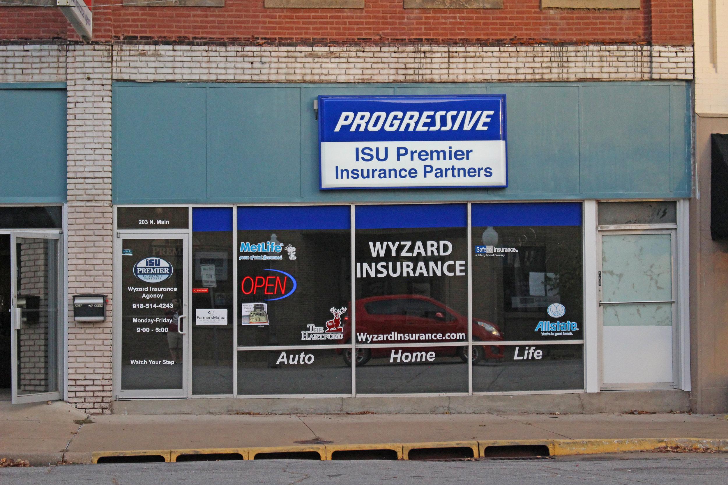 wyzard insurance - downtown 203 north main street