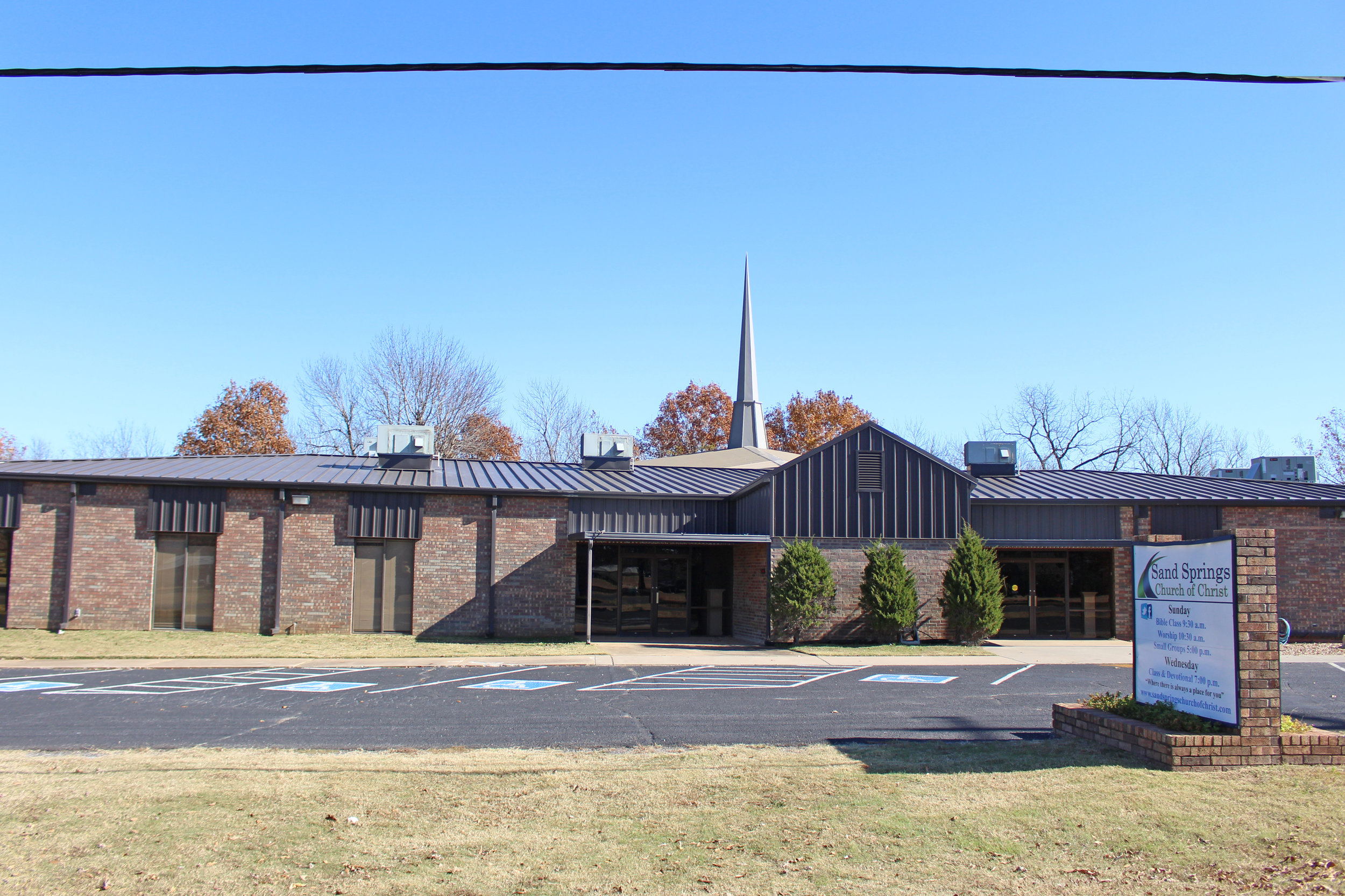 sand springs church of christ - prattville 4301 south 113th west avenue