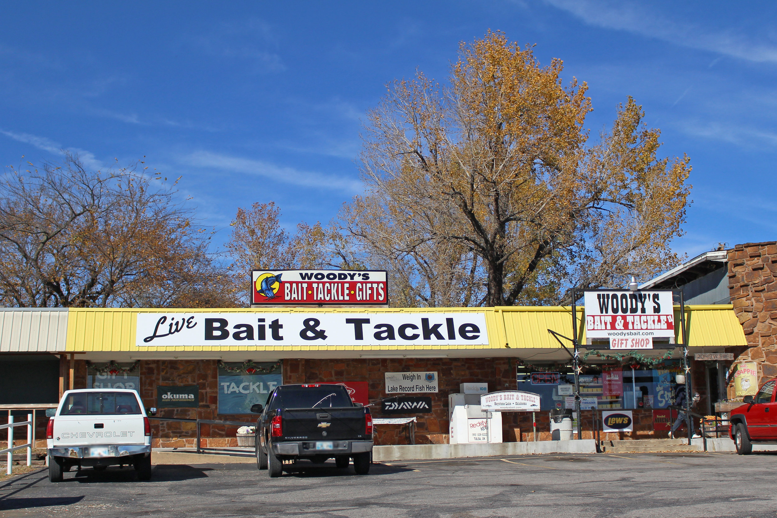 woody's bait & tackle 20913 west 8th street