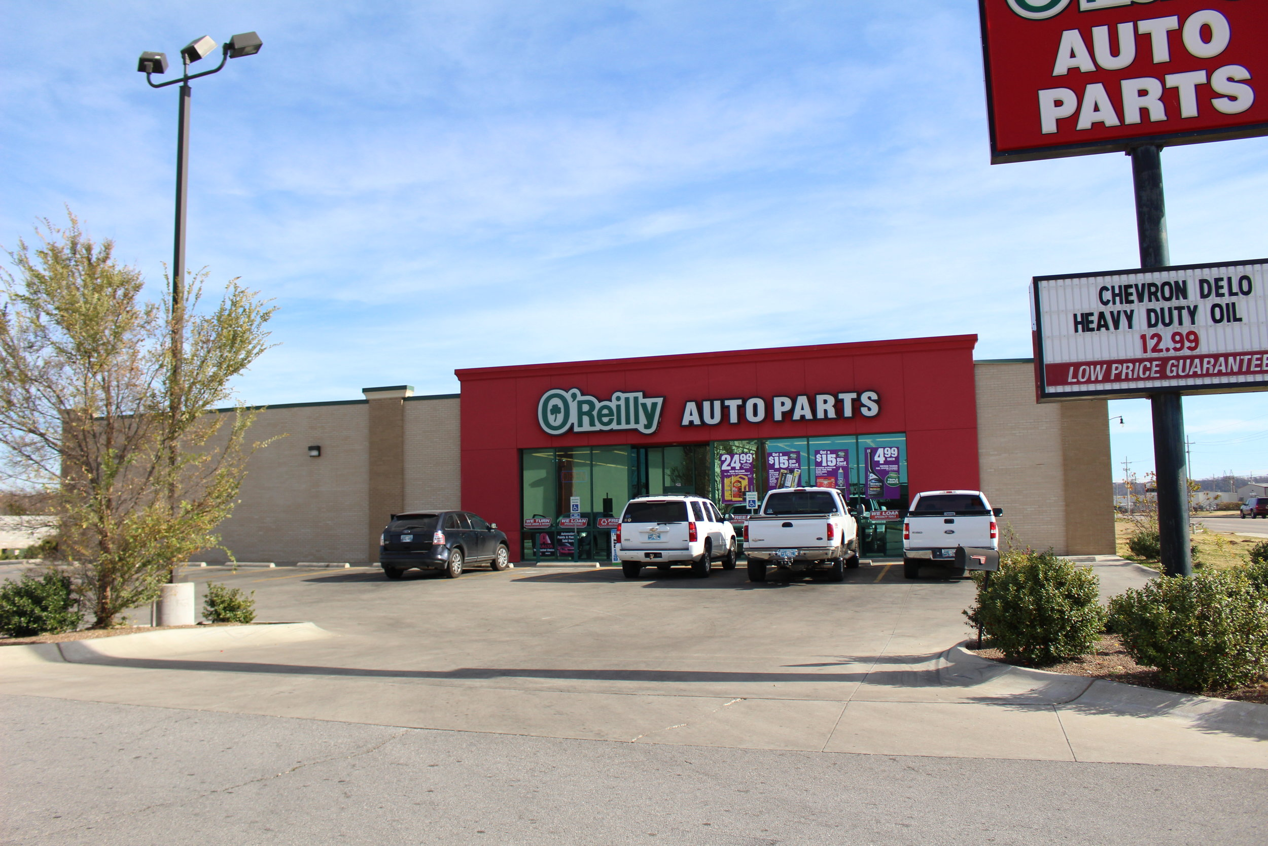 O'Reilly Auto parts - river west 291 west morrow road