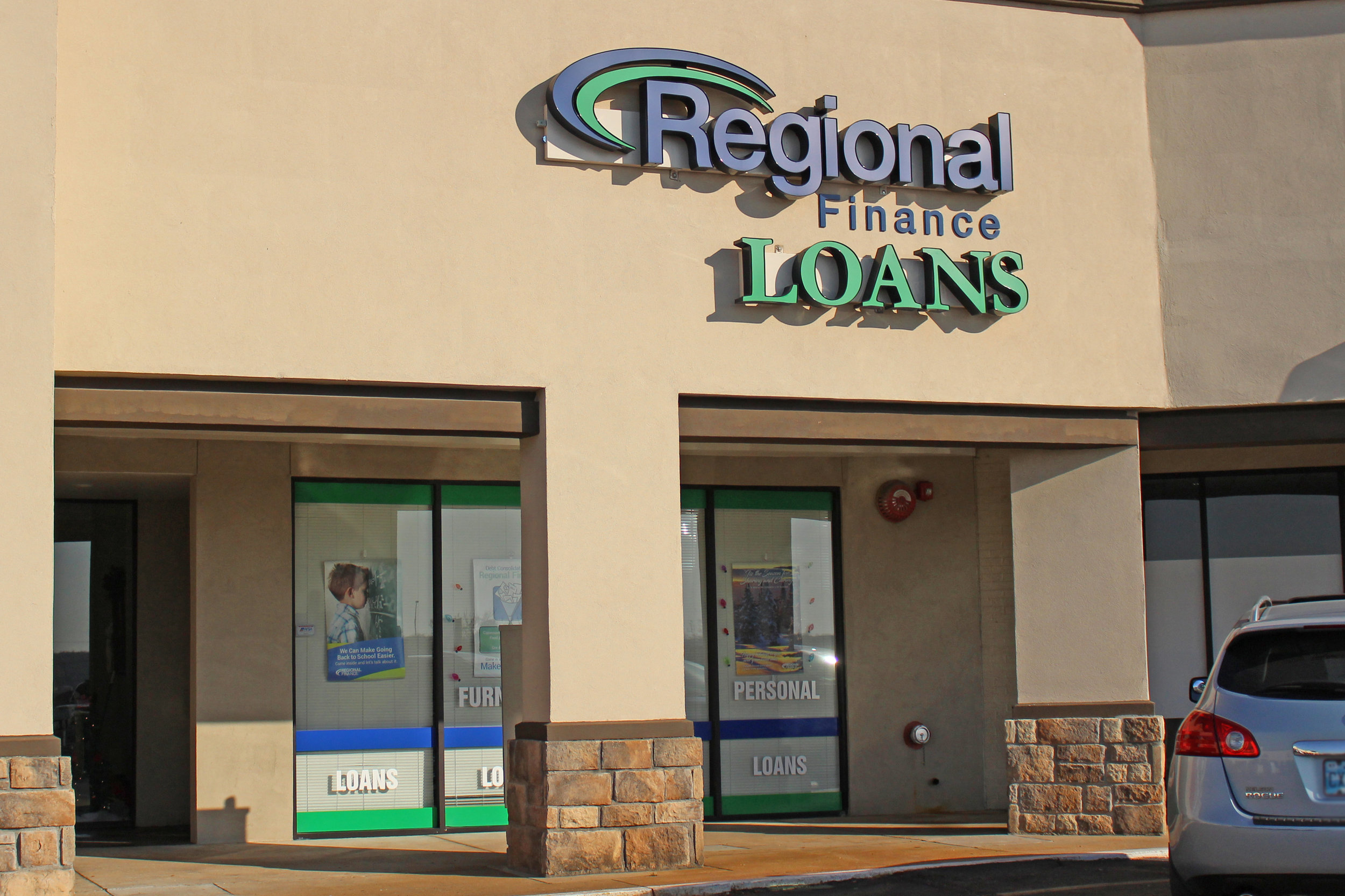 regional finance loans - the shops at adams road 512 plaza court