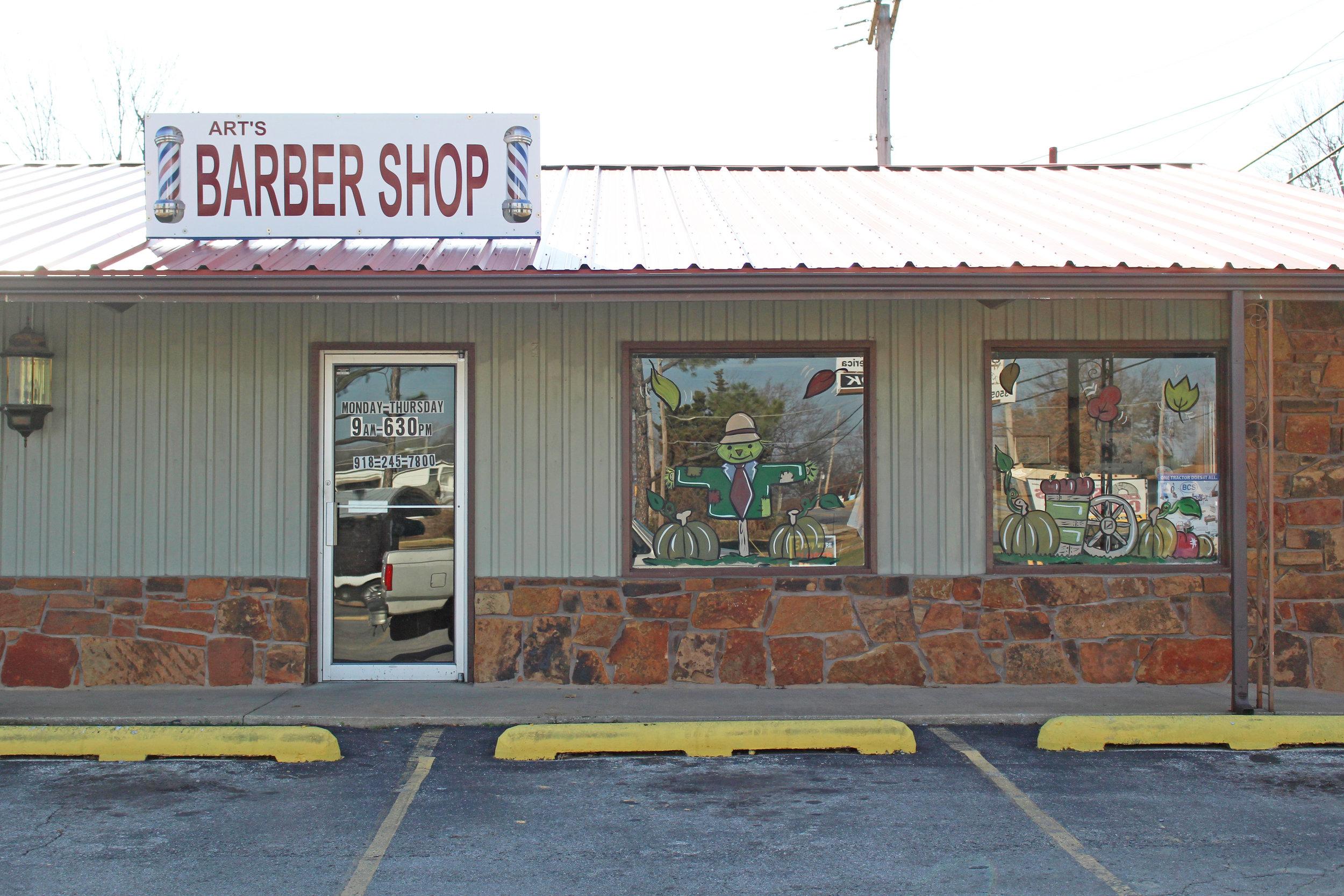 art's barber shop - sandite center 3505 south 113th west avenue