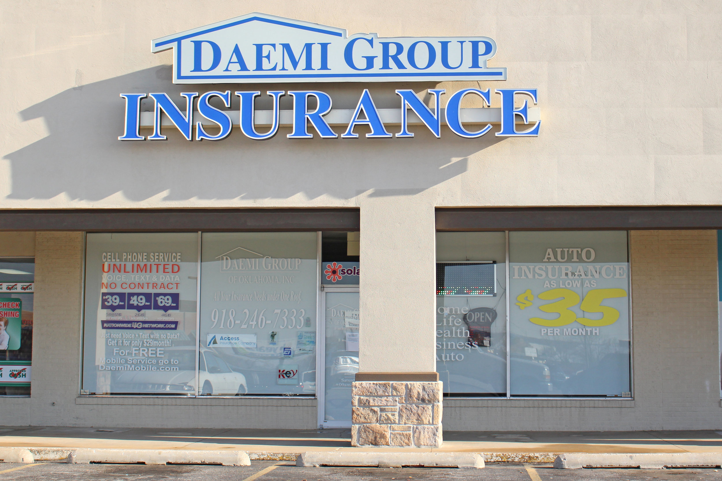 Daemi group insurance - shops at adams road 526 plaza court