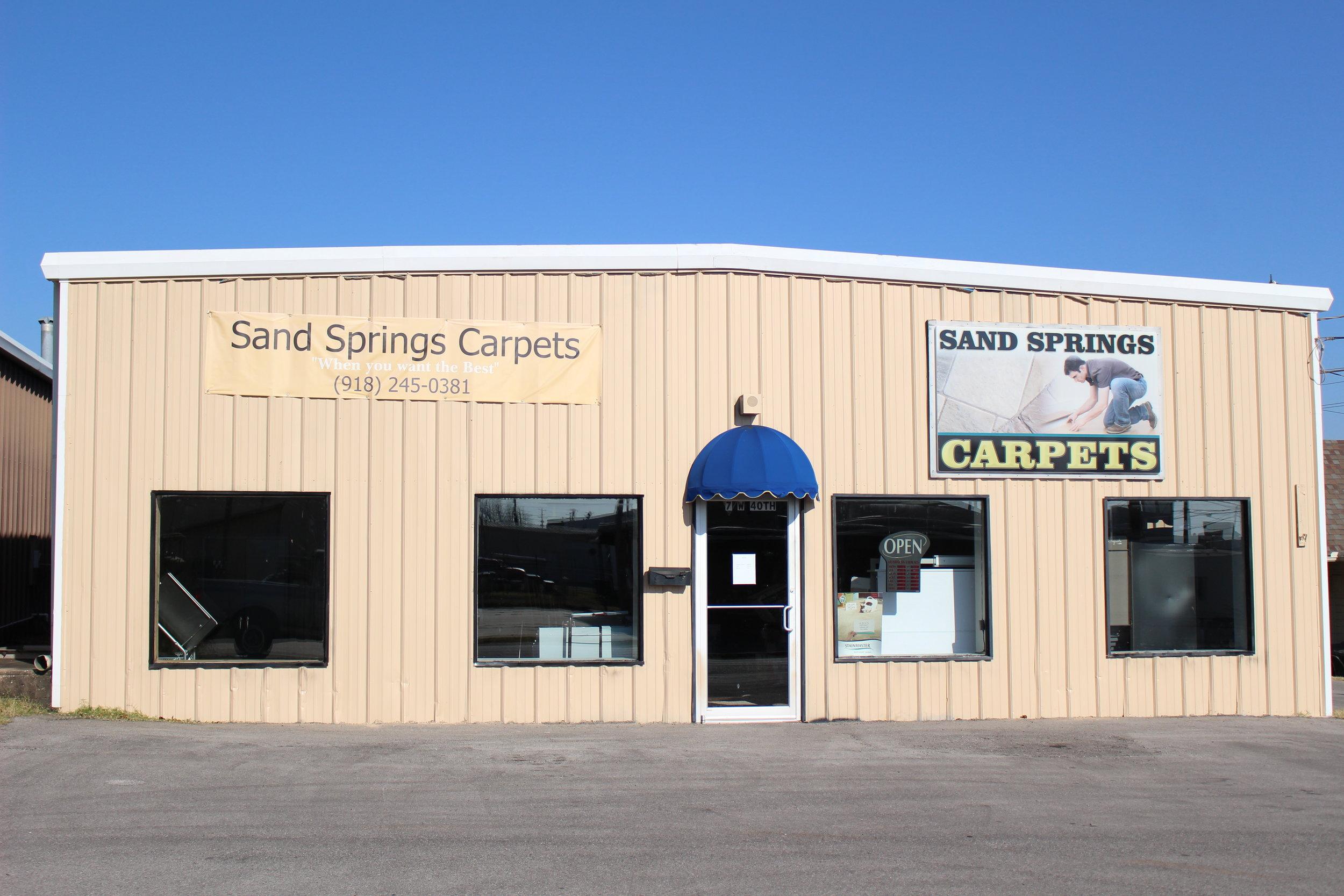 sand springs carpets - prattville 7 west 40th street
