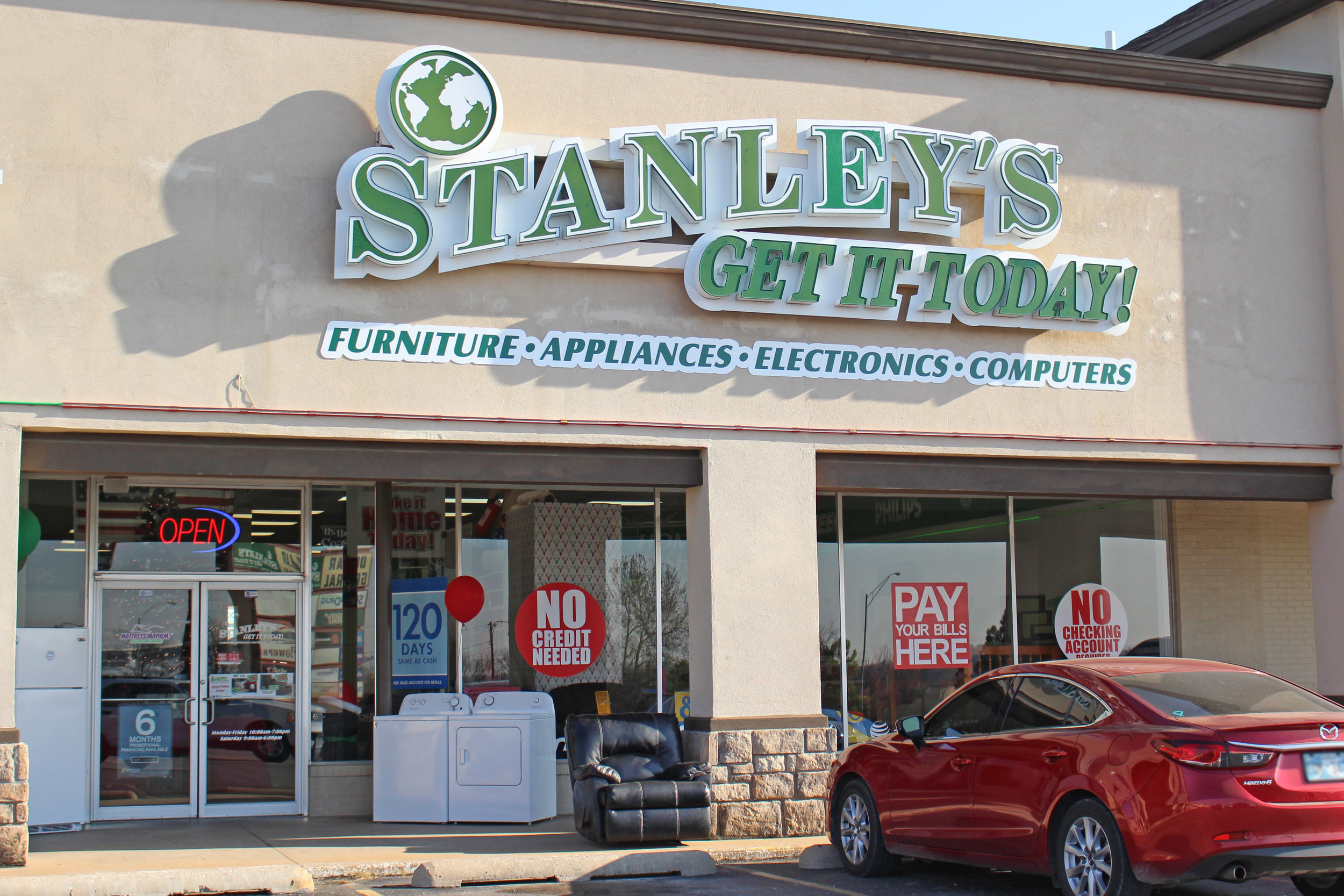 stanley's get it today - the shops at adams road 532 plaza court