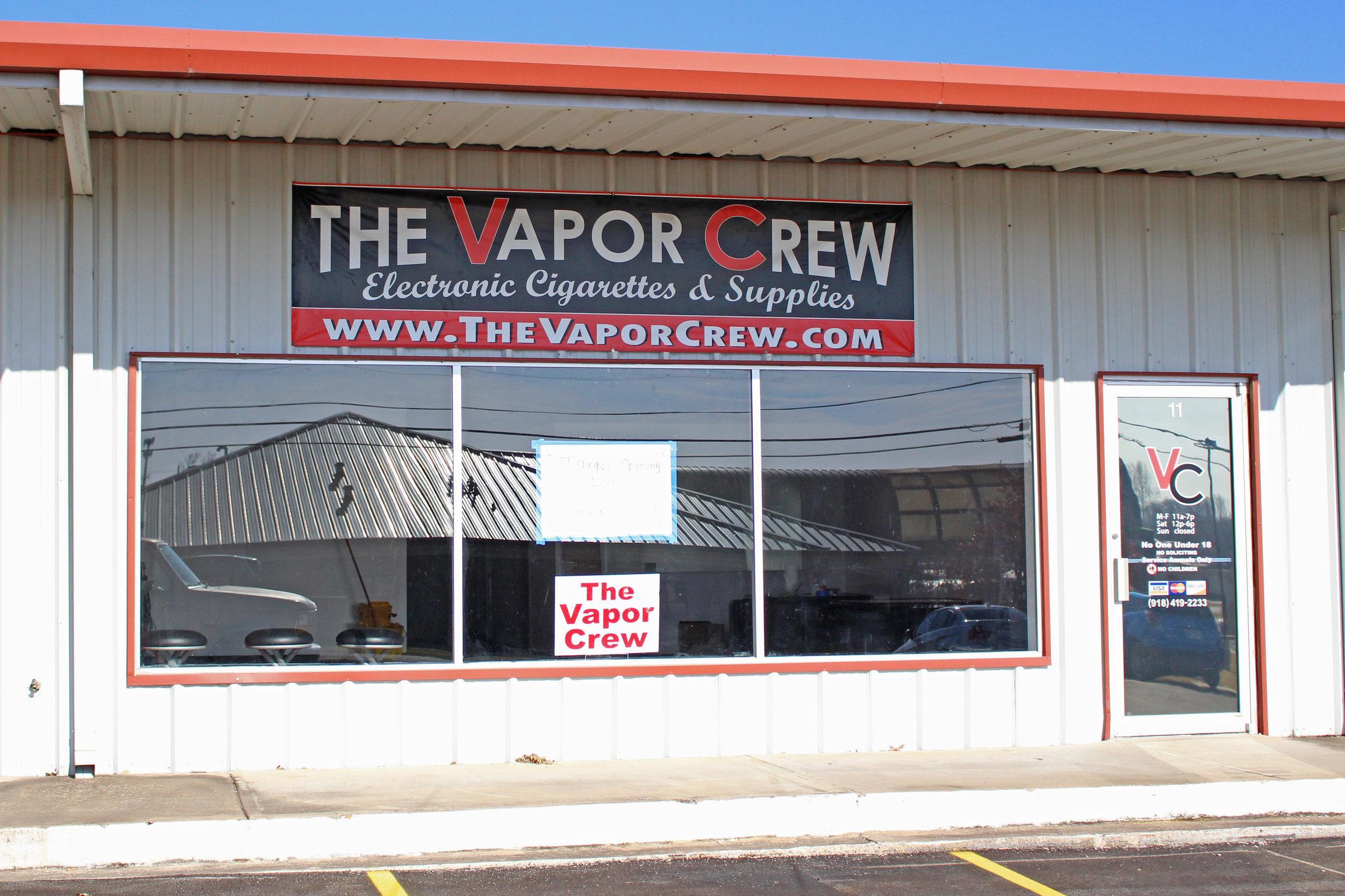 The Vapor Crew - Cox Center 11 East 34th street south