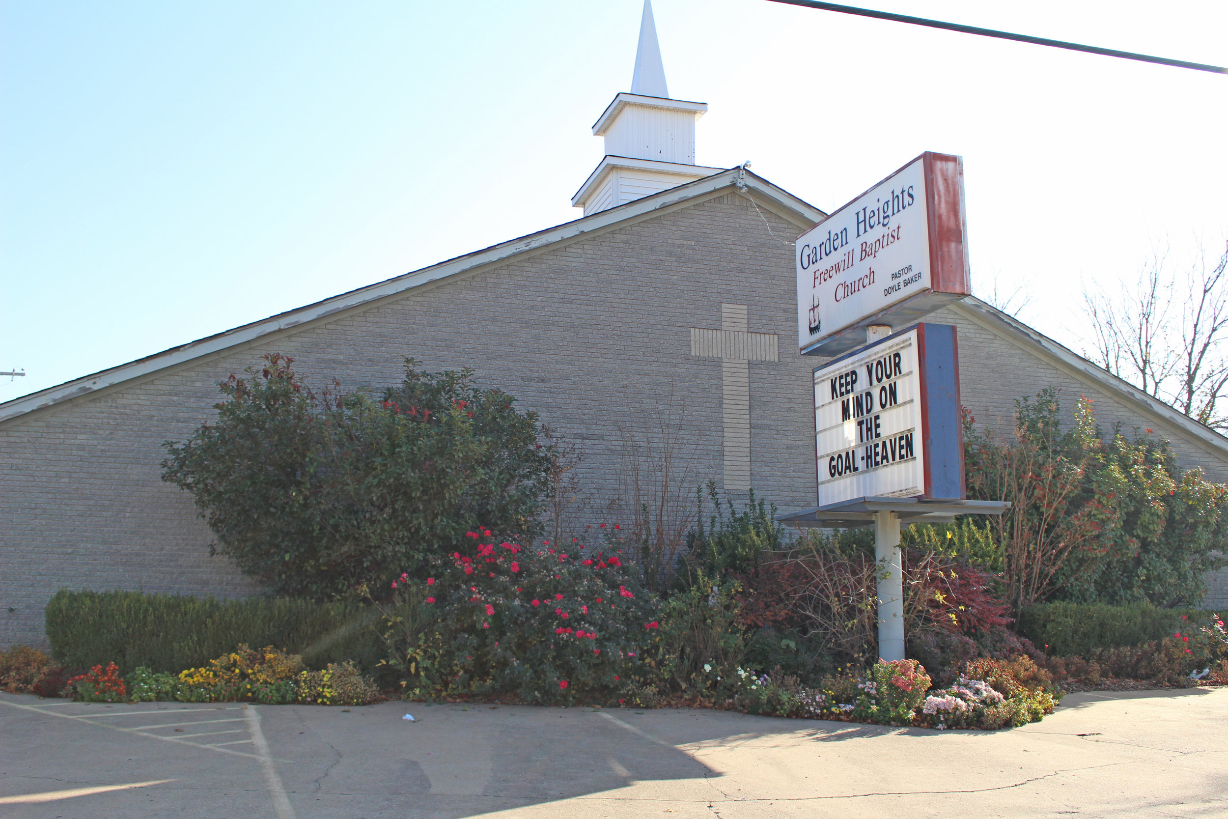 garden heights freewill baptist church - prattville 3415 summit boulevard