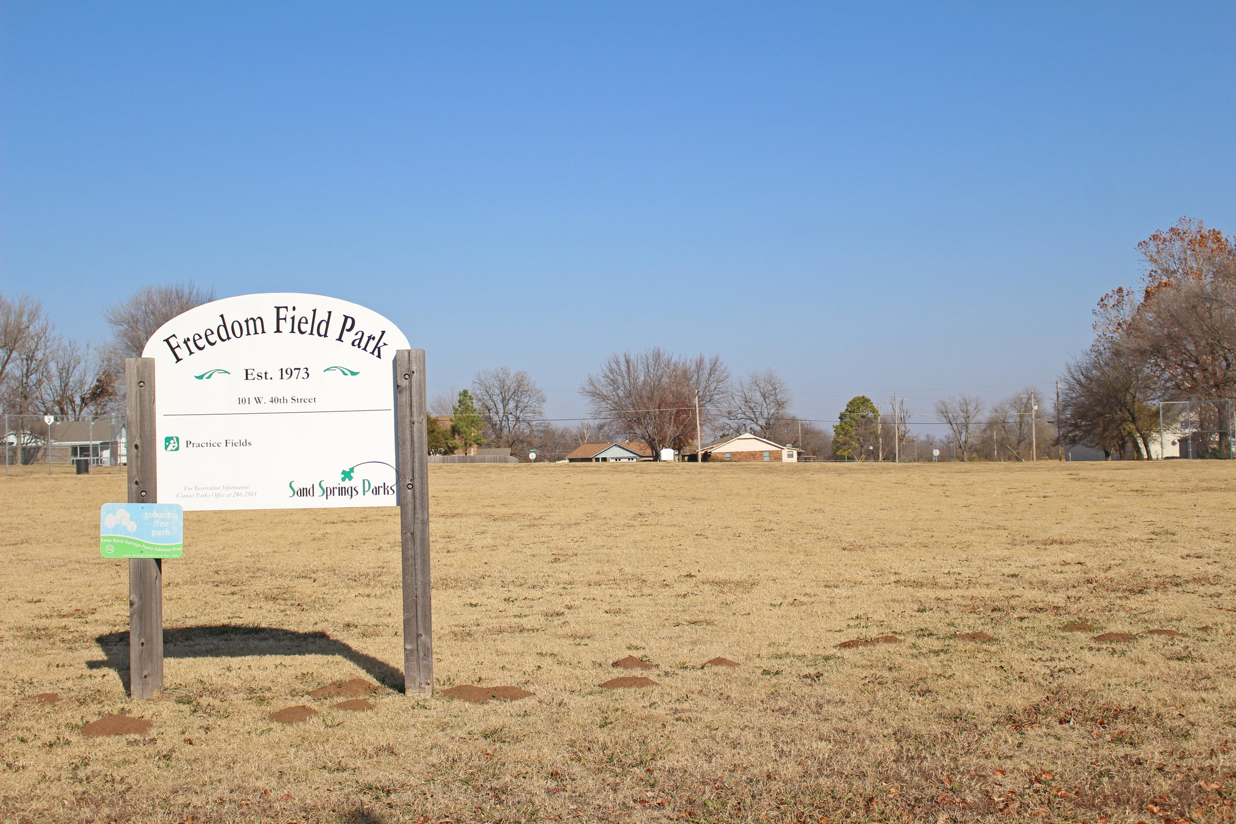 freedom field park - prattville 101 west 40th street
