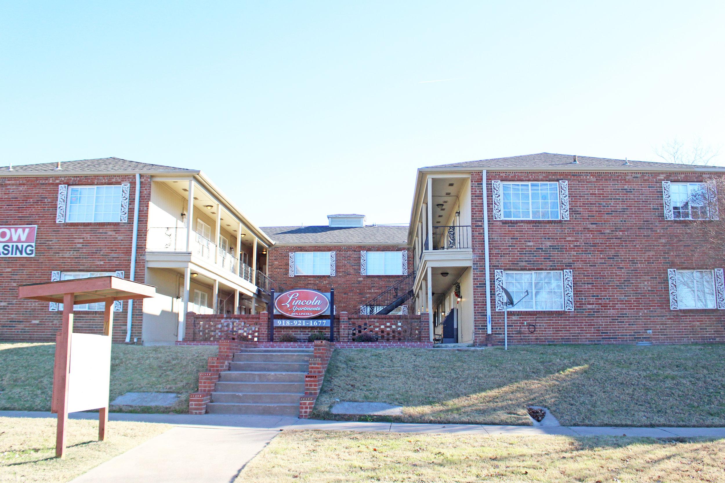 lincoln apartments 419 north lincoln avenue