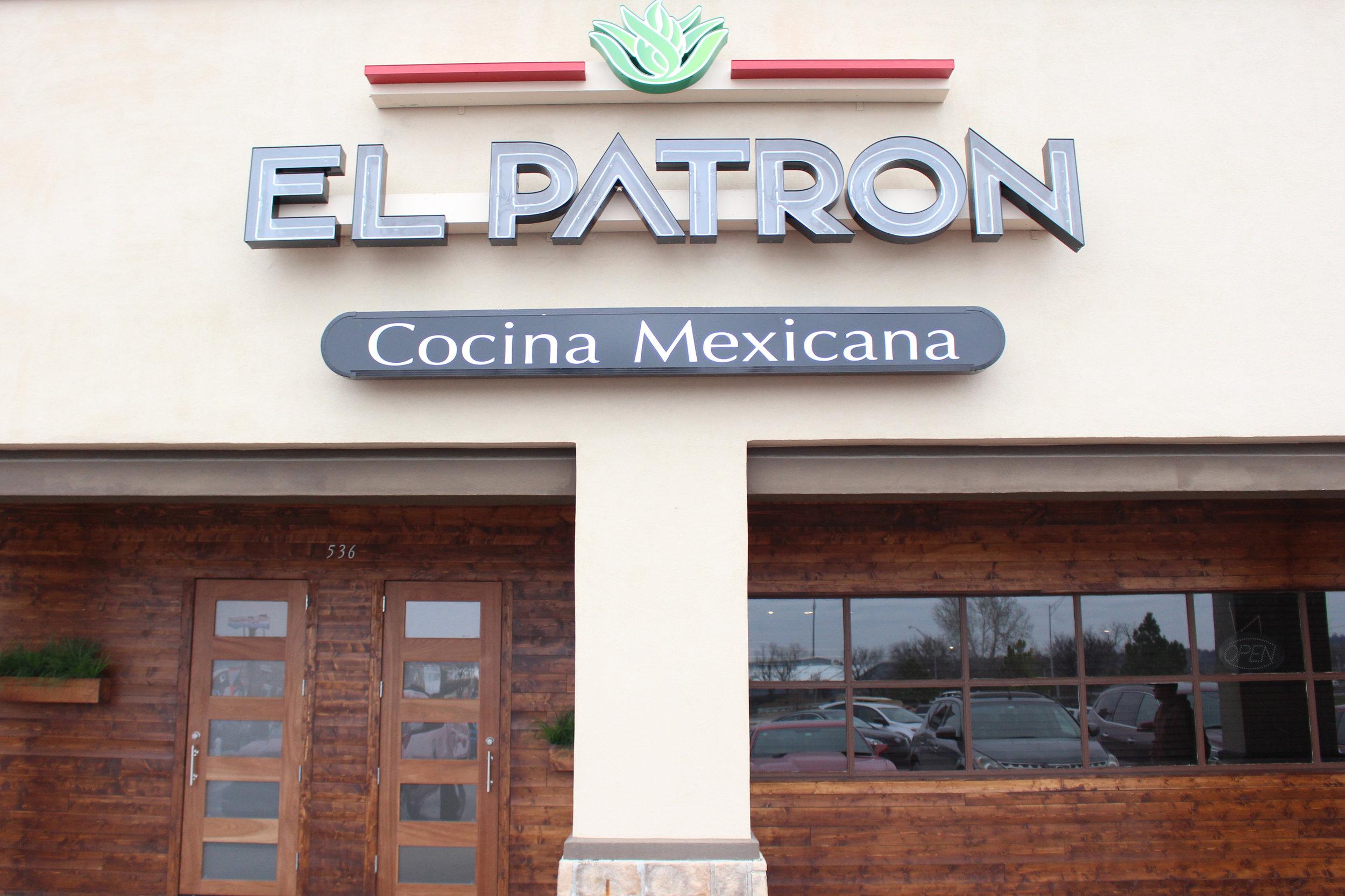 el patron cocina mexicana - the shops at adams road 536 plaza court