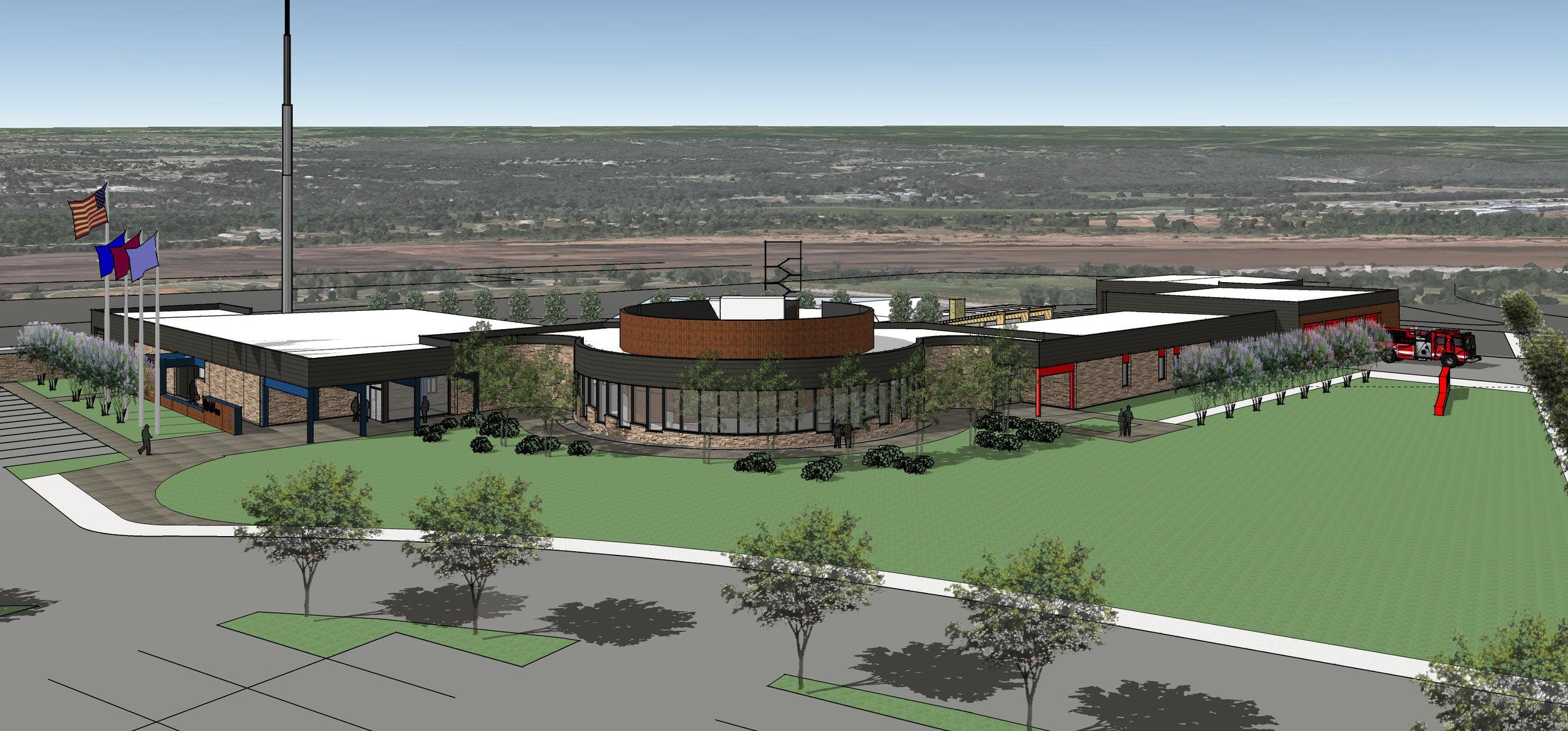 Designs for Billie A. Hall Public Safety Facility.jpg
