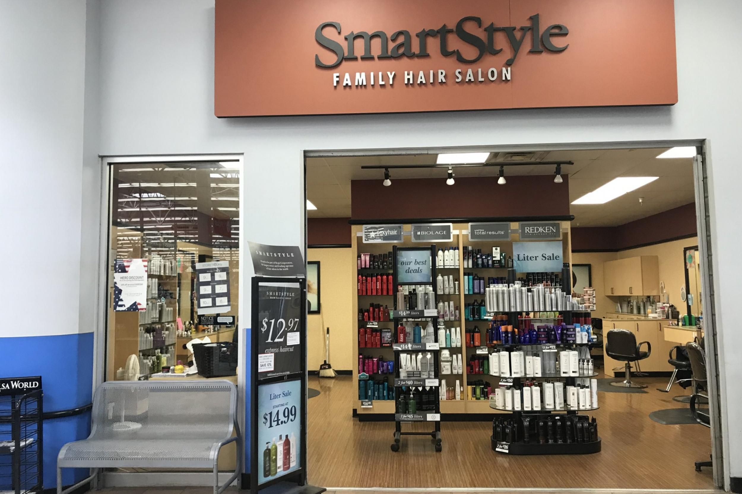 smartstyle hair salon - inside walmart 220 ok-97