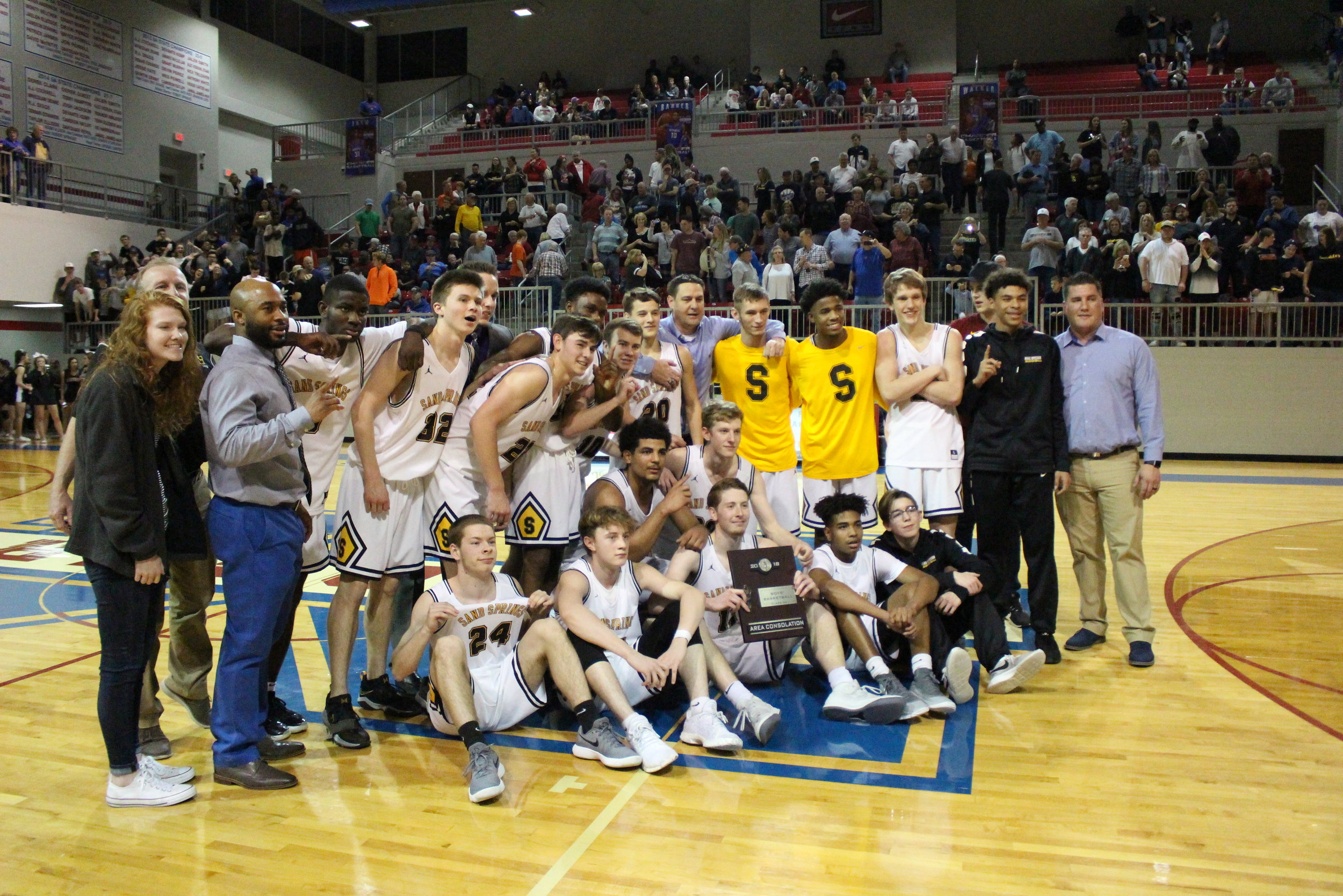 The Sand Springs Sandites are headed to the 6A State Tournament for the first time under Head Coach Eric Savage. (Photo: Morgan Miller).
