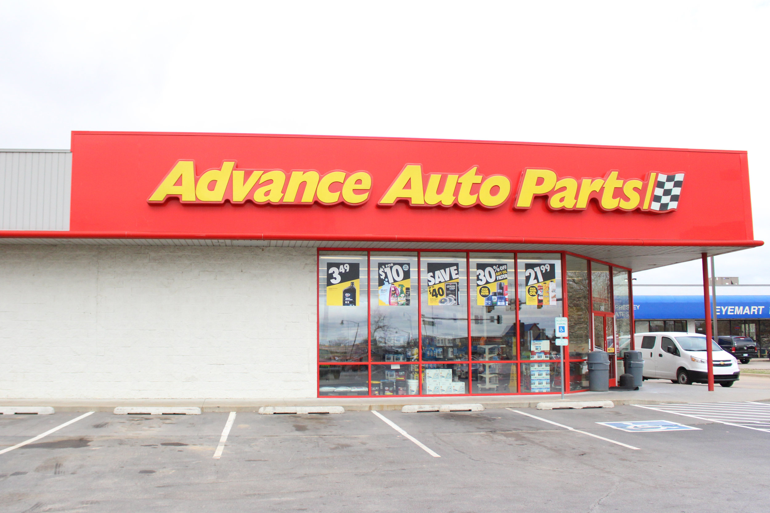 advance auto parts 240 south highway 97