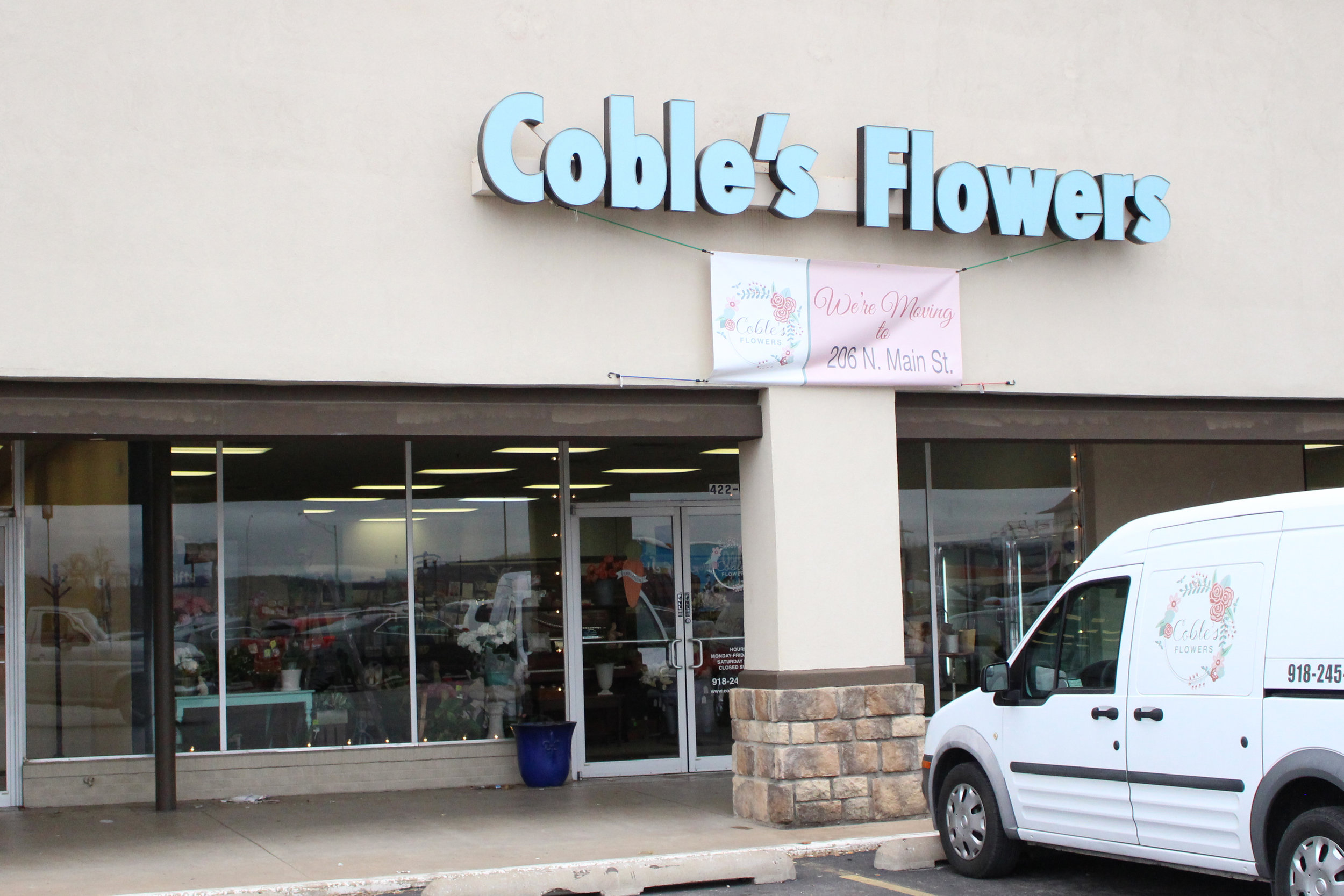 coble's flowers - the shops at adams road 422 plaza court