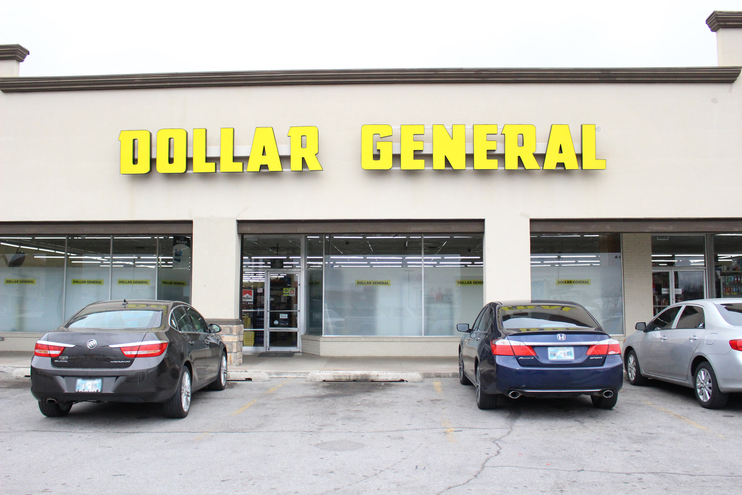 dollar general - the shops at adams road 520 plaza court