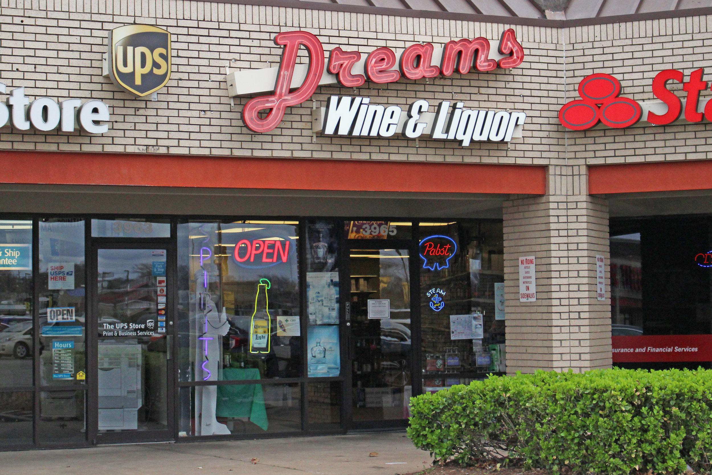 dreams wine & Liquor - springs village 3965 South highway 97