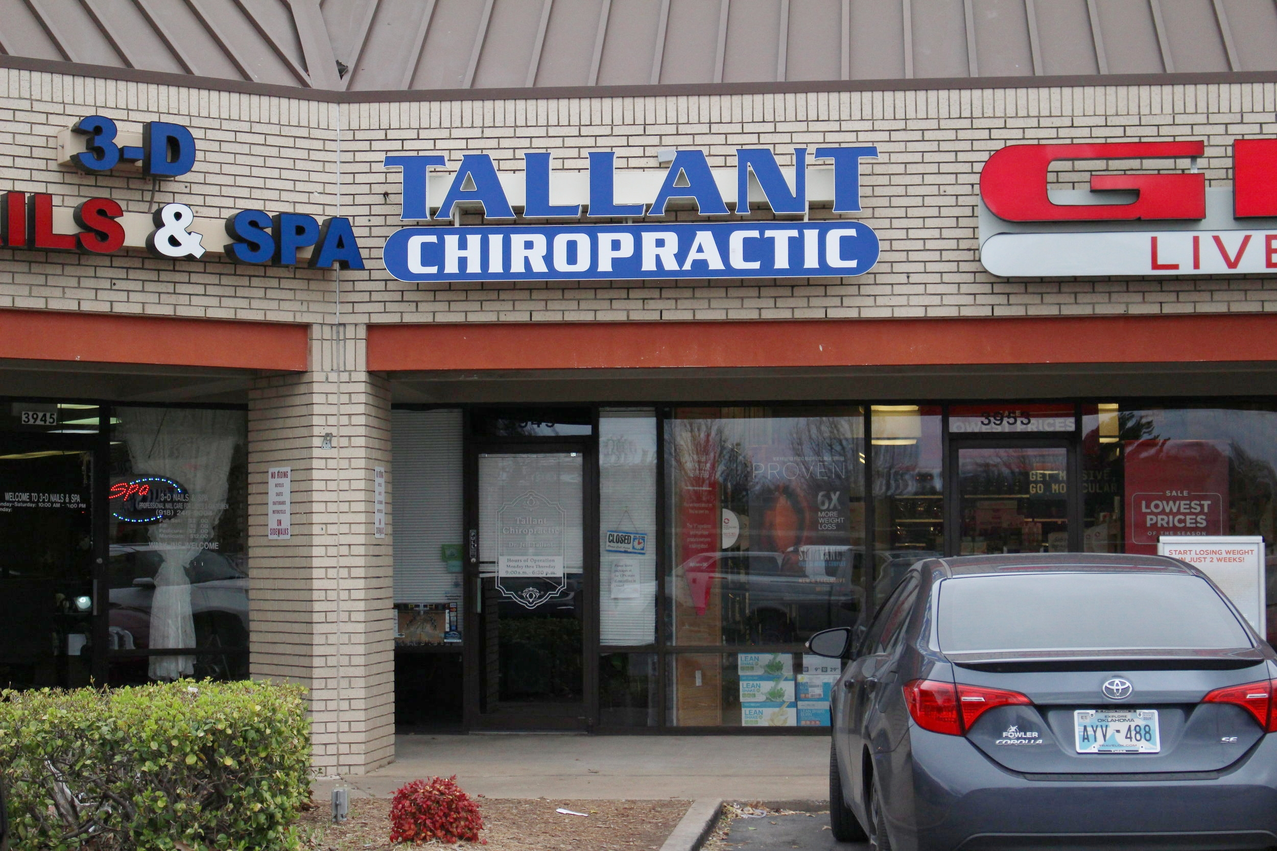 tallant chiropractic - springs village 3949 south highway 97