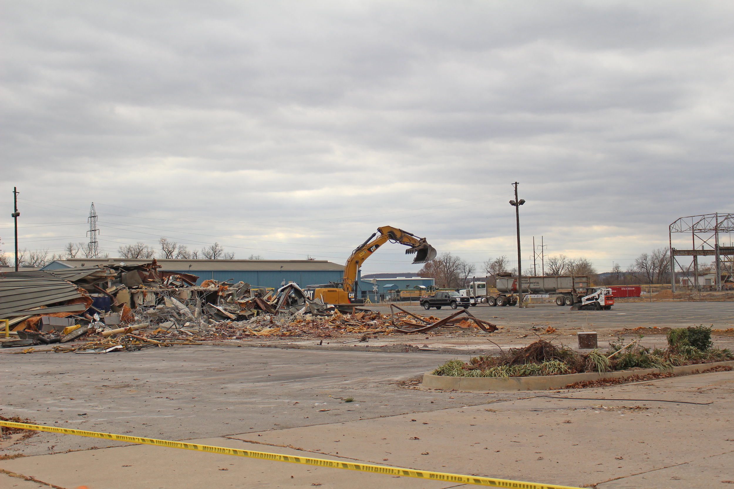 The former Gerdau steel mill is now prime commercial real estate being marketed by the City of Sand Springs.