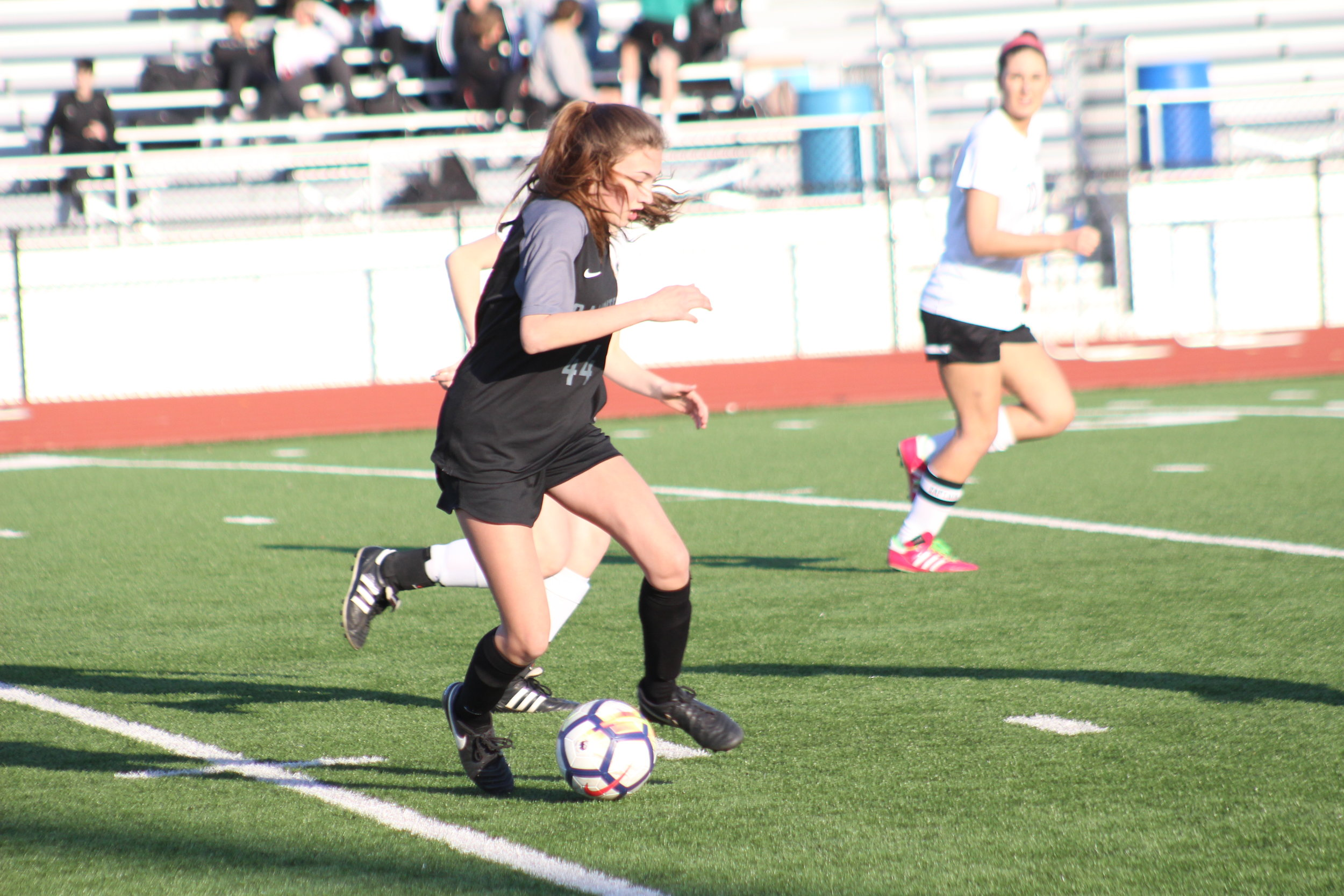 Julia Wolf led all Sandites this season with eight goals.
