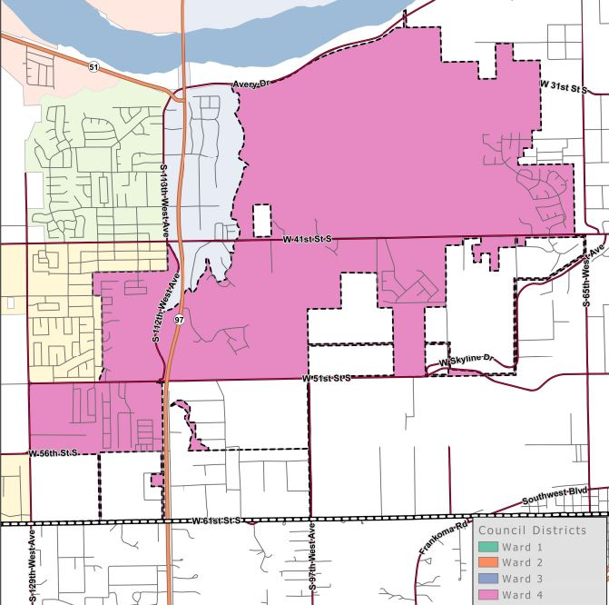 Ward 4 map.