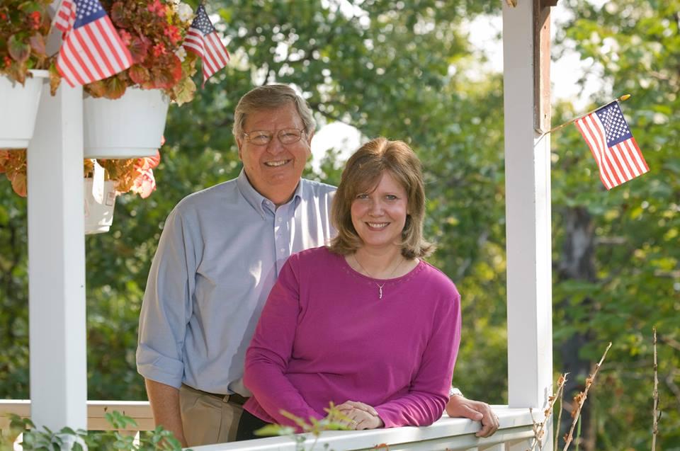 Nancy and Jerry Riley, Courtesy photo.