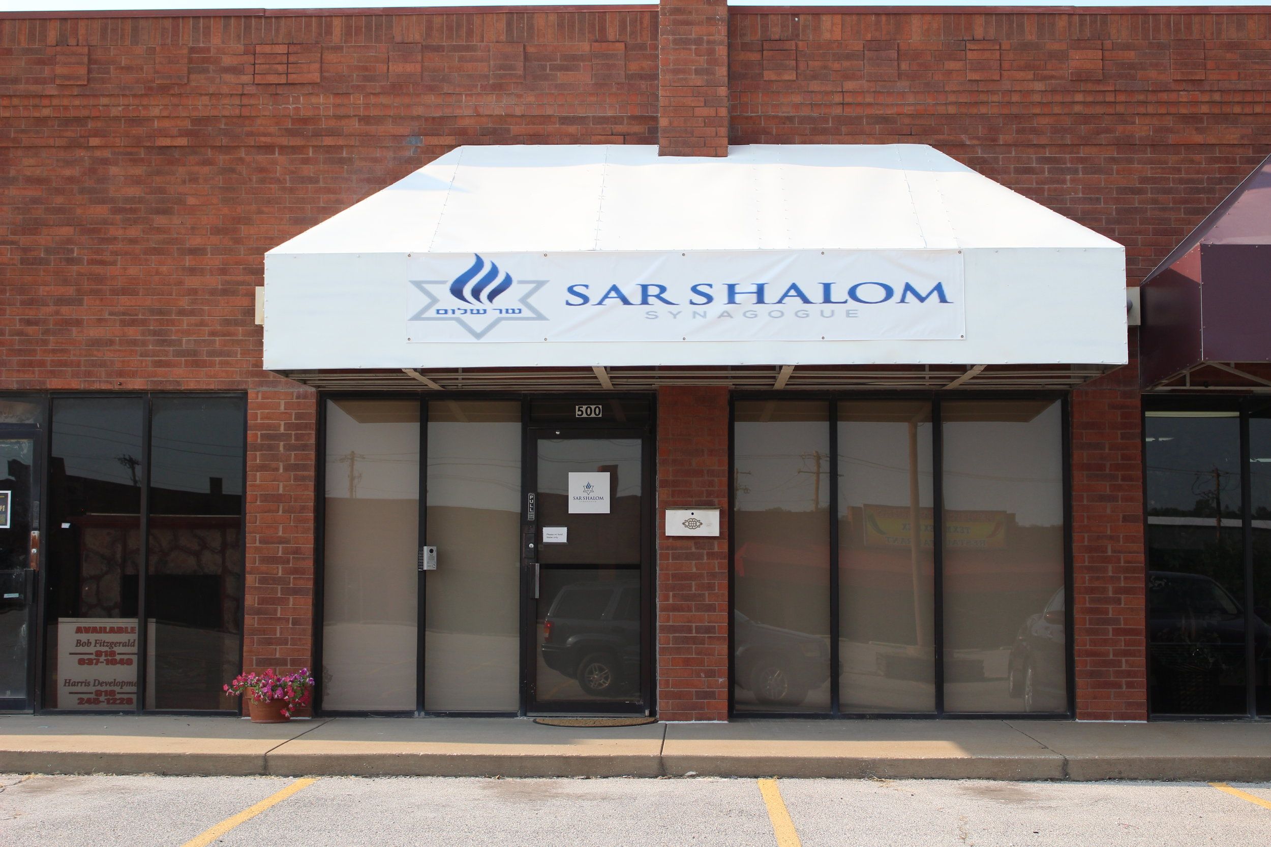 Sar Shalom Synagogue - Harris Center 1124 East Charles Page Boulevard Suite 500