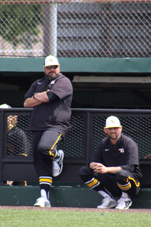 Former head coach james Garrison (left) resigned his post september 11, 2019.