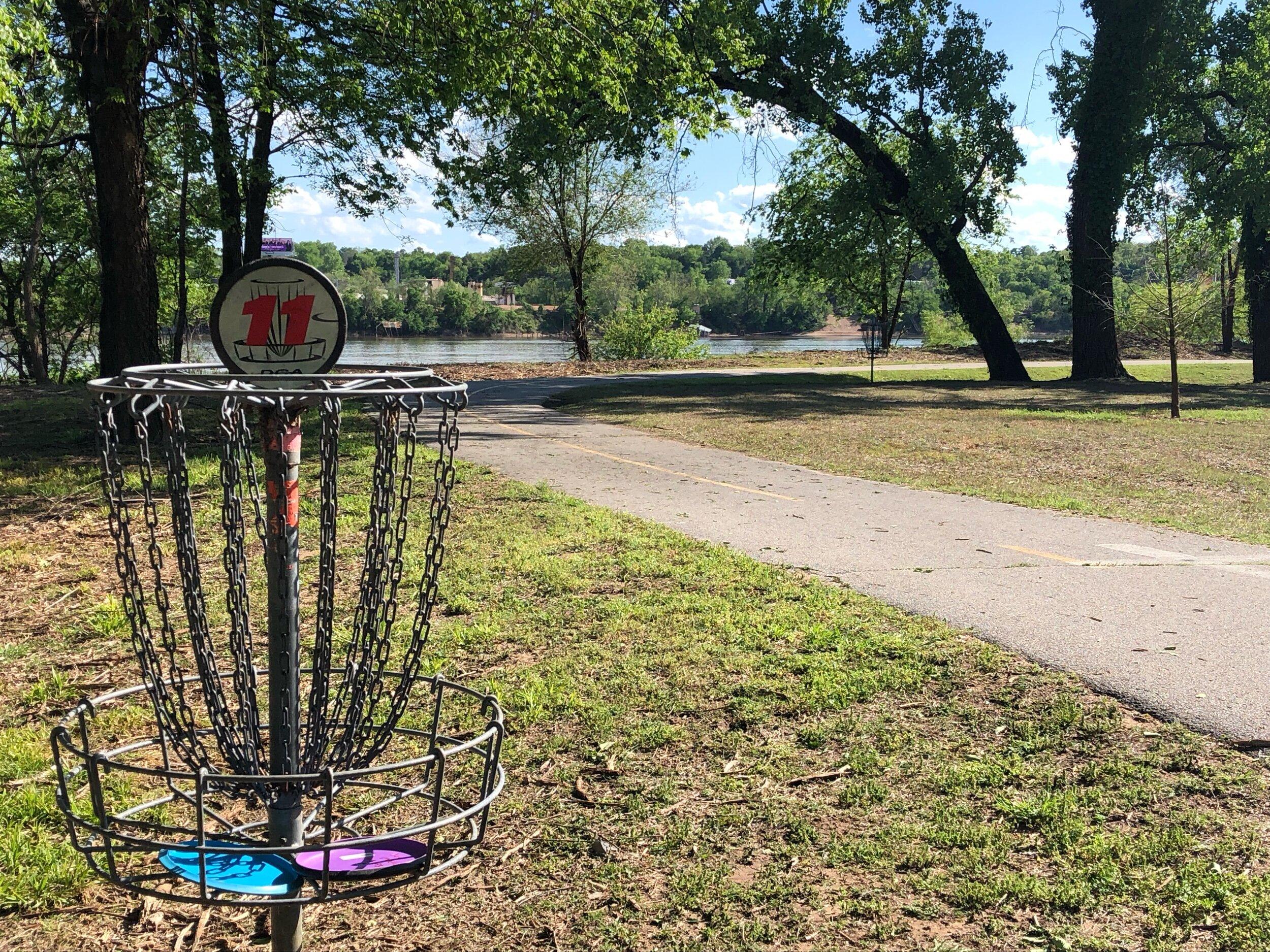 Sand Springs Parks Department Unveils Latest Plans For New Disc Golf Course Seeks Community Input Sandite Pride News