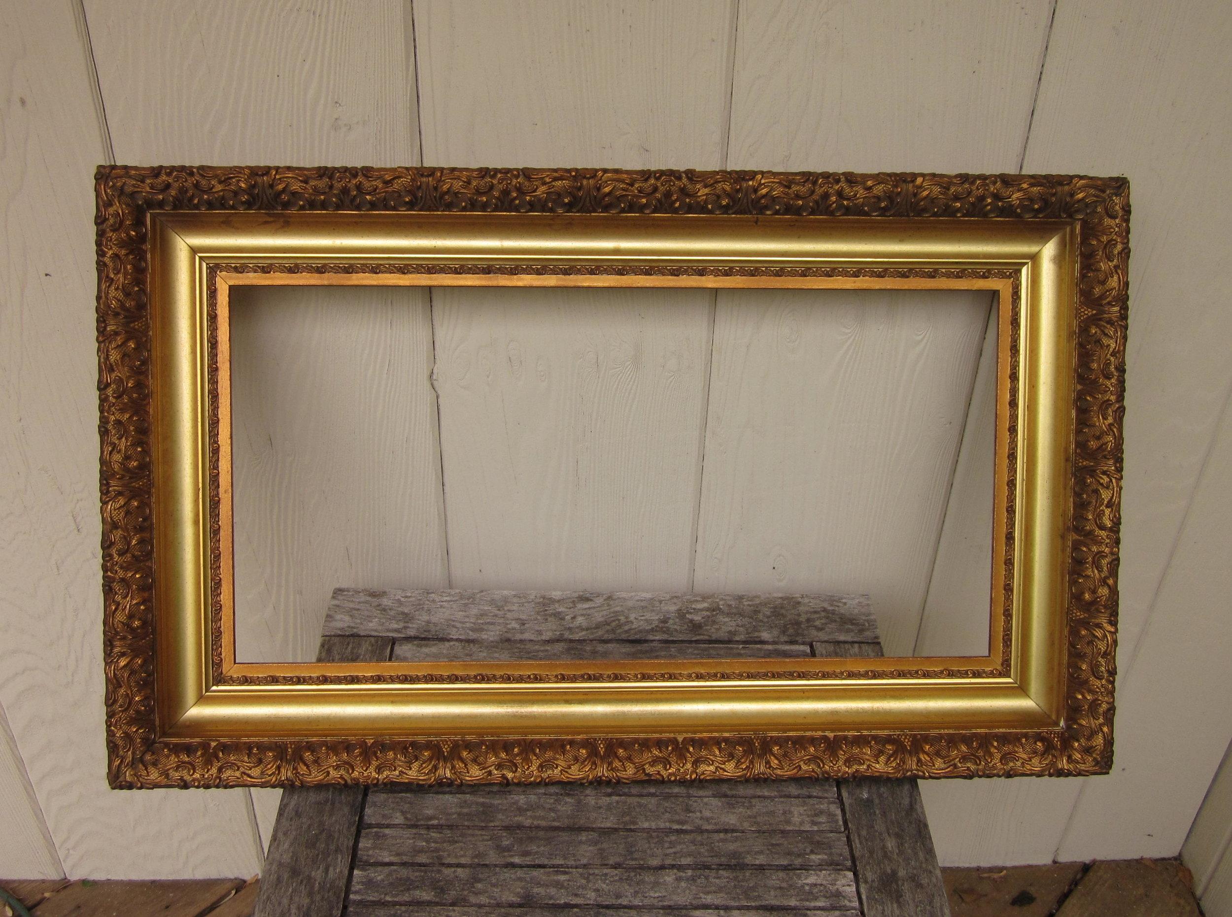 Picture Frames C1860 Excellent Large Victorian Rosewood Sampler Print Textile Antique Frame