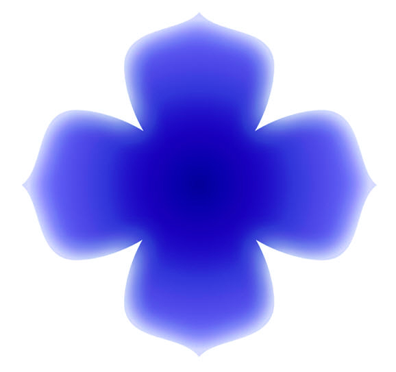 Blue Flower Meditation