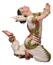 Ananda M. Sundari, performing Classical Est Indian Odissi Dance. Photo: Payal Studio, BBSR, Orissa, India 2008