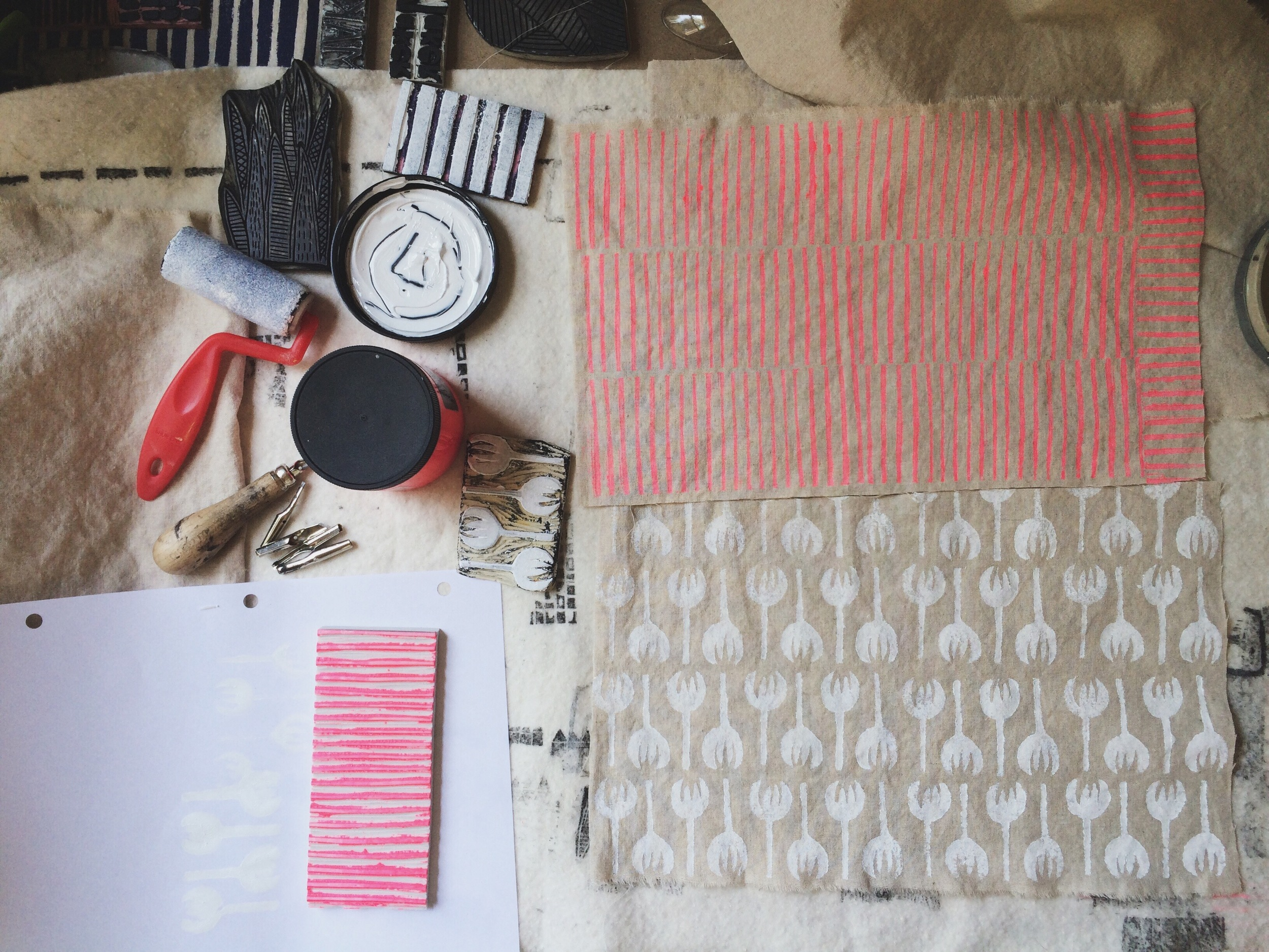 Block Printing, Sarah Golden
