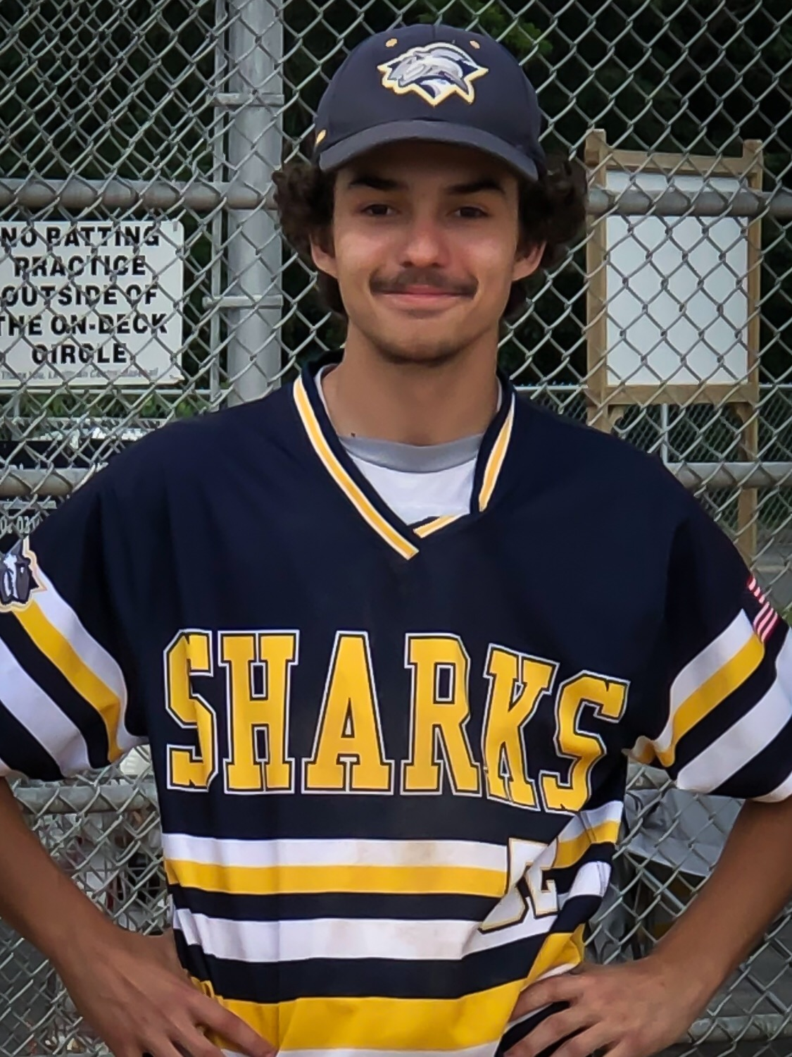 HiCast User and South Shore Sharks Left Fielder, Darren Fullone II