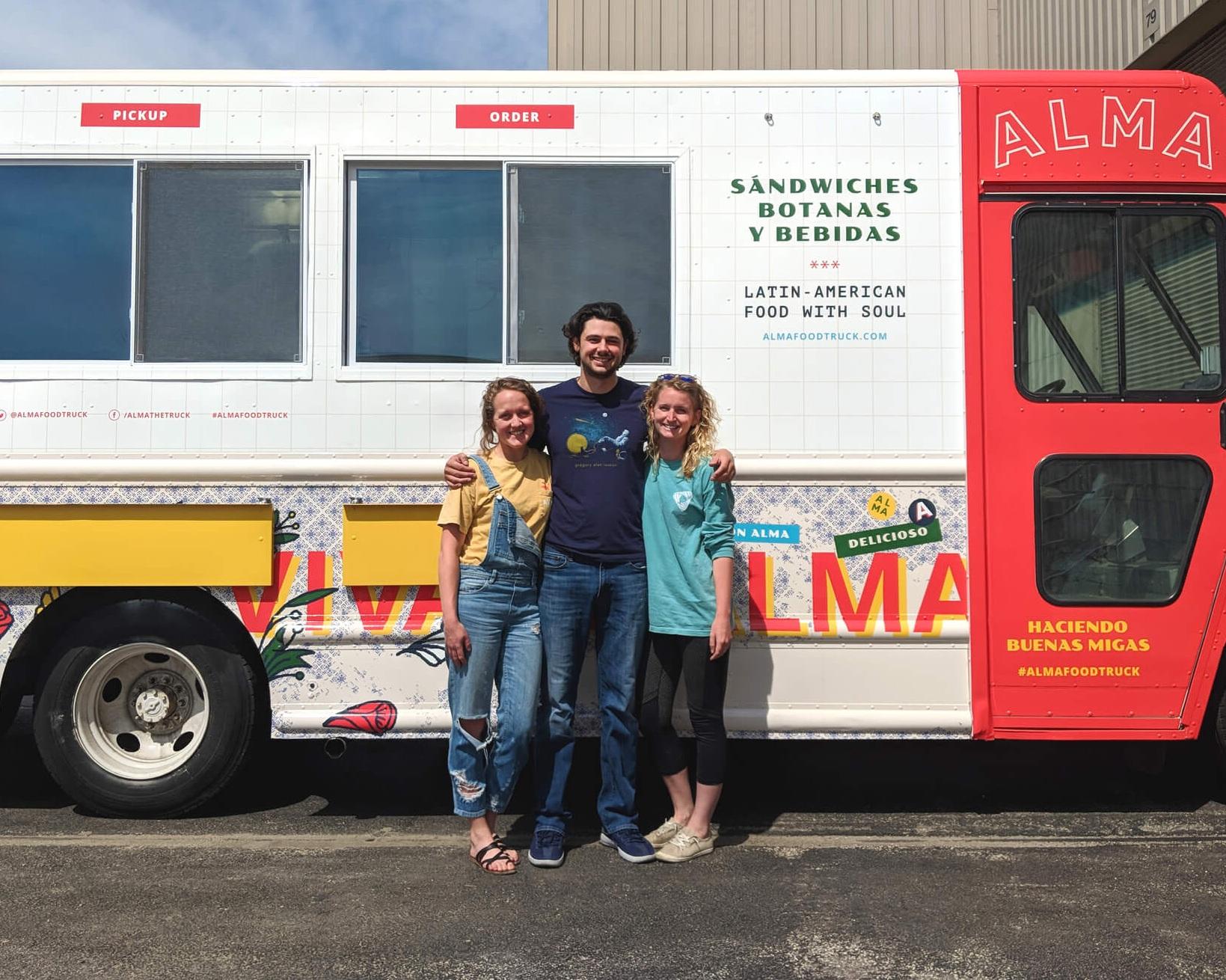 ALMA Food Truck: Kayla, Jacob and Emily