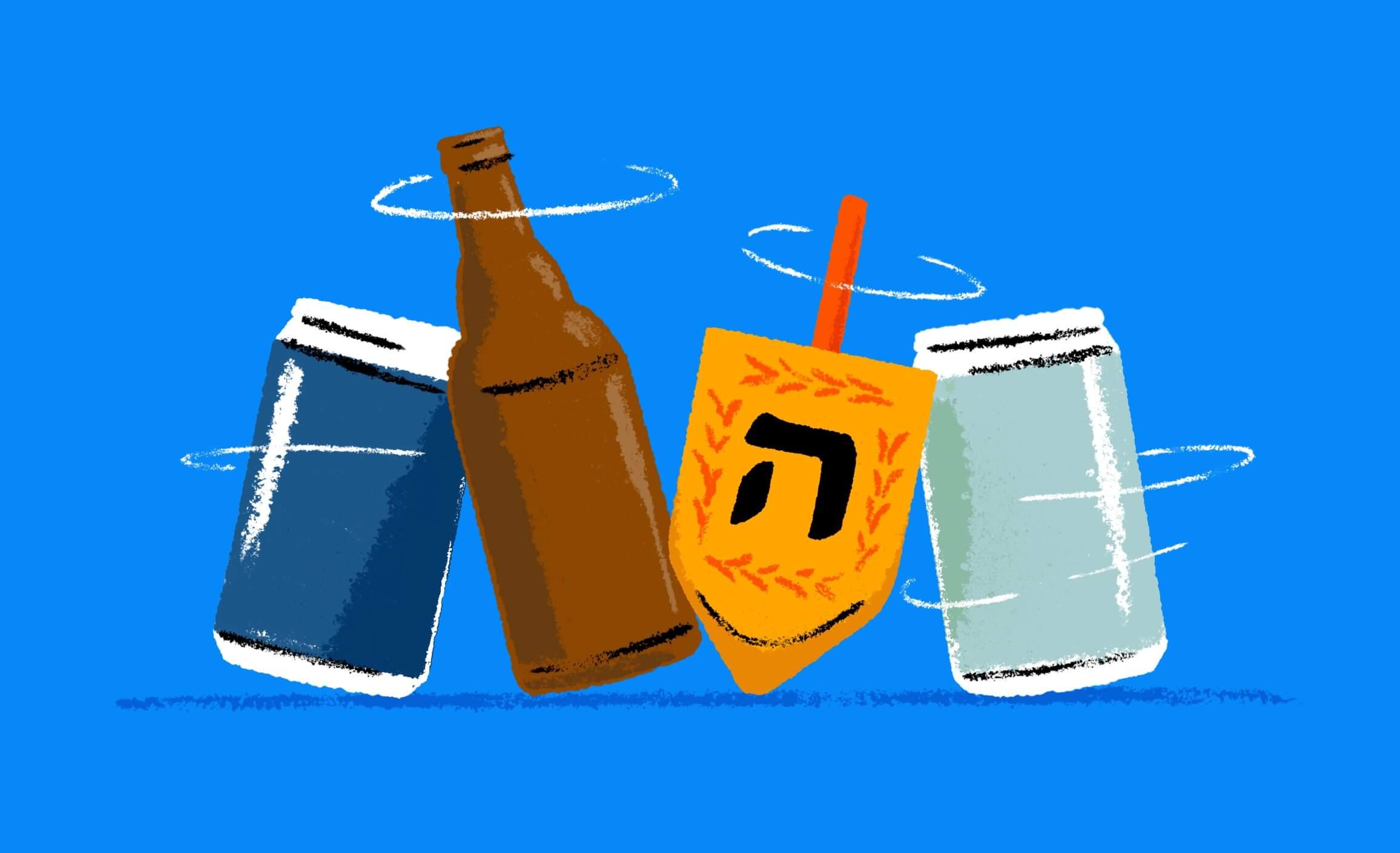 Forget Manischewitz, Hanukkah Should Be All About Beer