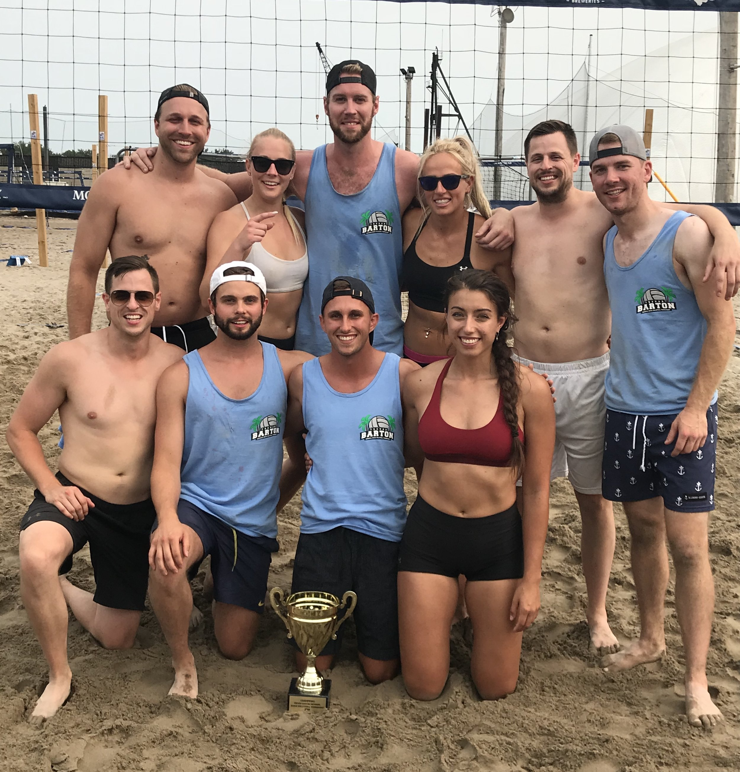 2nd Annual Beach Volleyball Champs!
