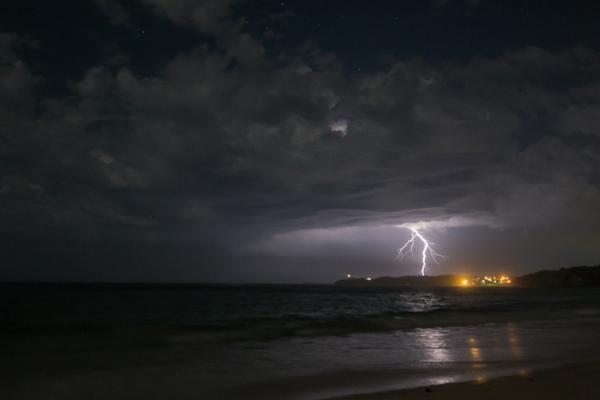 Lightening strike by Michael Smyth