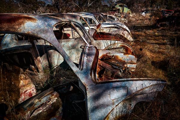 Dak-Dak graveyard by Michael Smyth