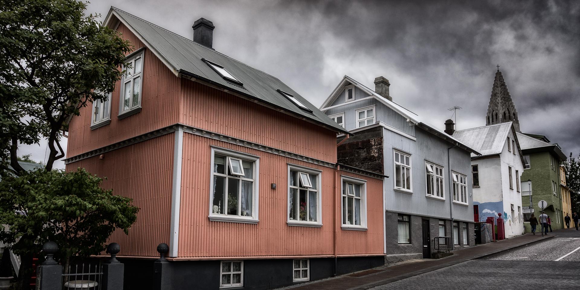 Old Reykjavik buildings (c) Michael Smyth 2016