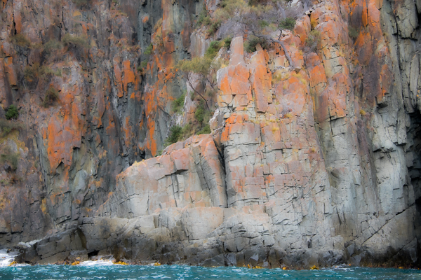 Abstract Cliffs, Brunie Island Tasmania (c) 2019