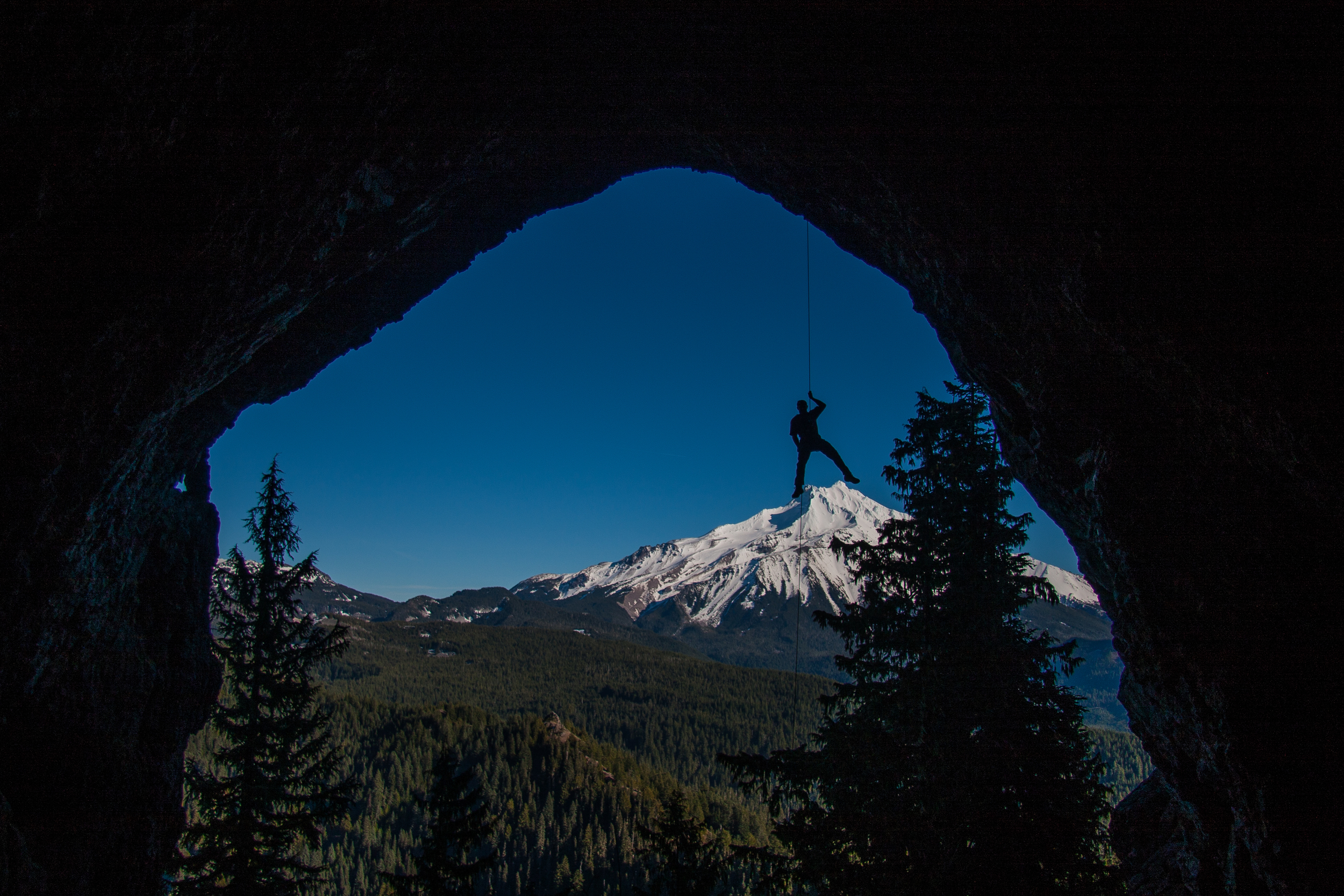 Giant on Mt Jefferson - Boca Cave, Oregon