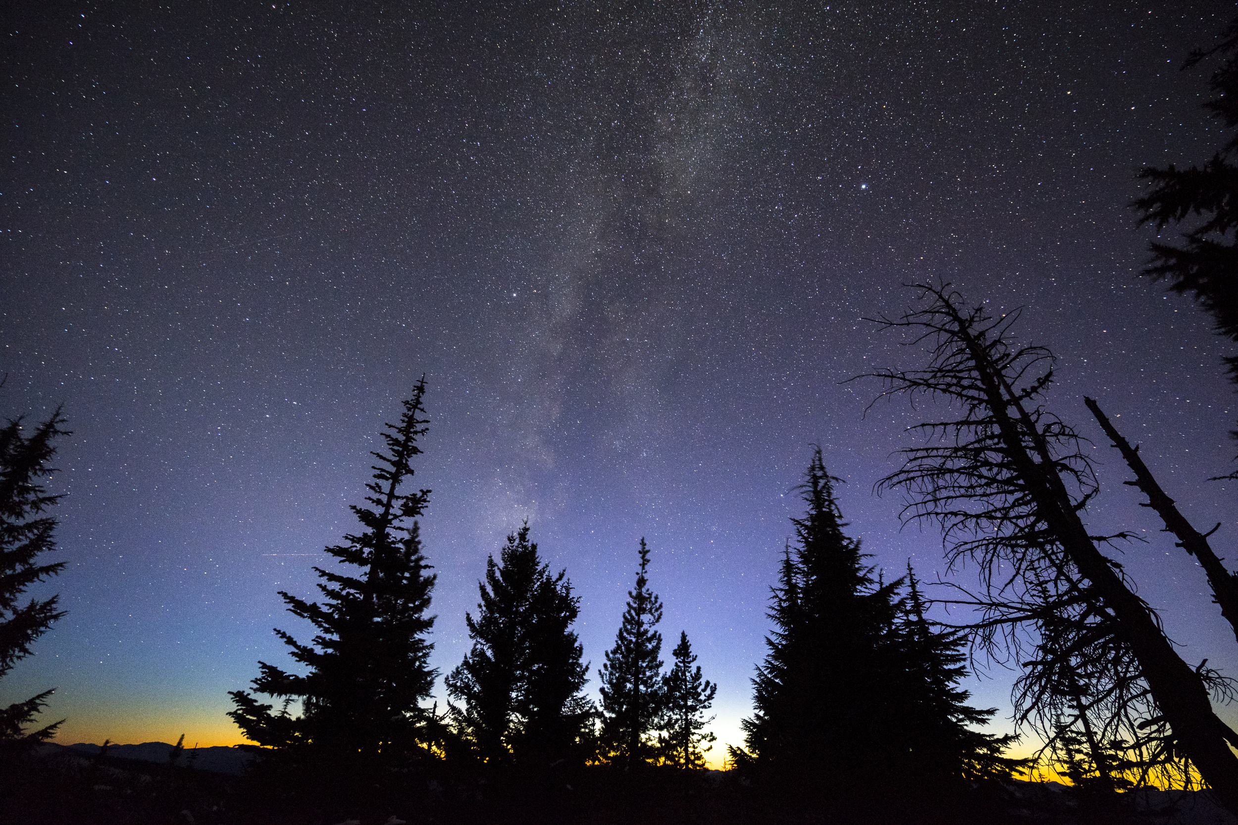 Milky Way and the Sunset