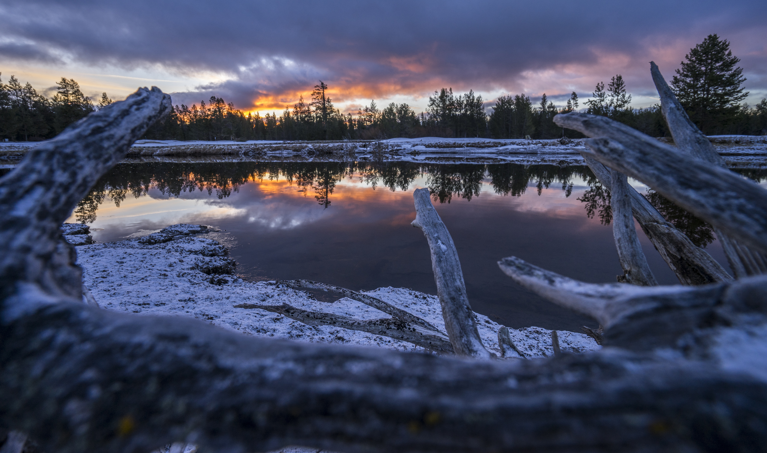 Sunrise on the Deschutes River, Oregon