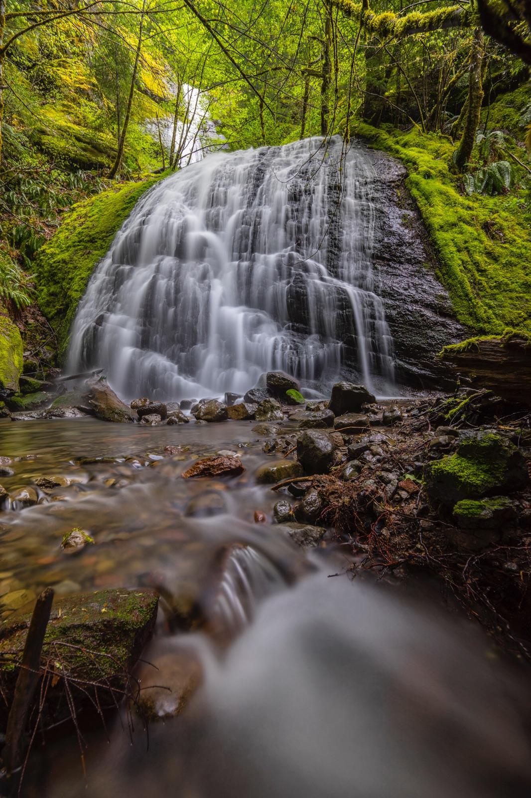 Unnamed Falls, Oregon