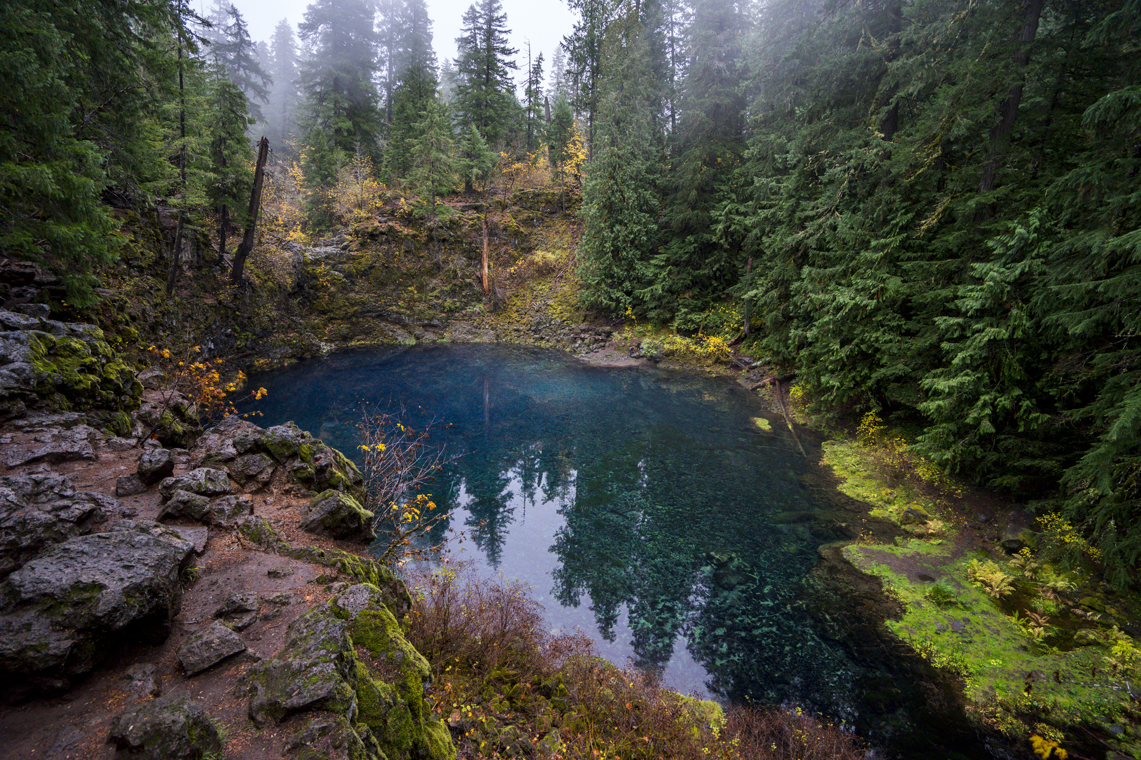 Blue Pool, Oregon