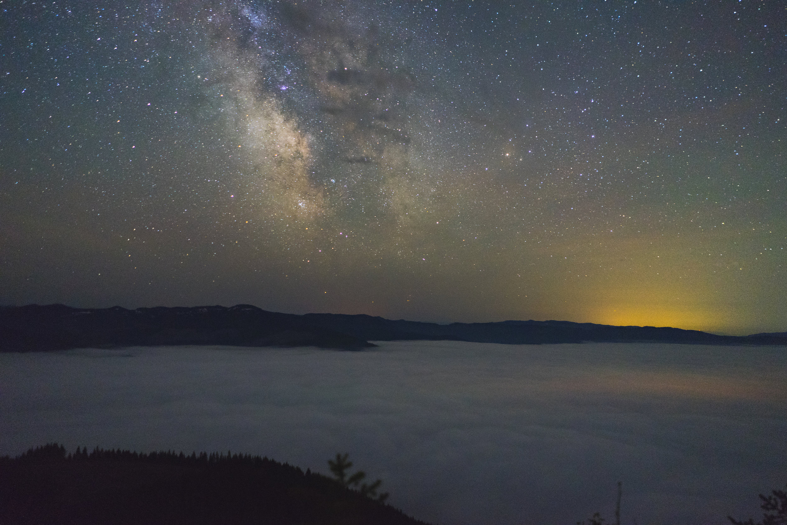 Milky Way over Gates, Oregon